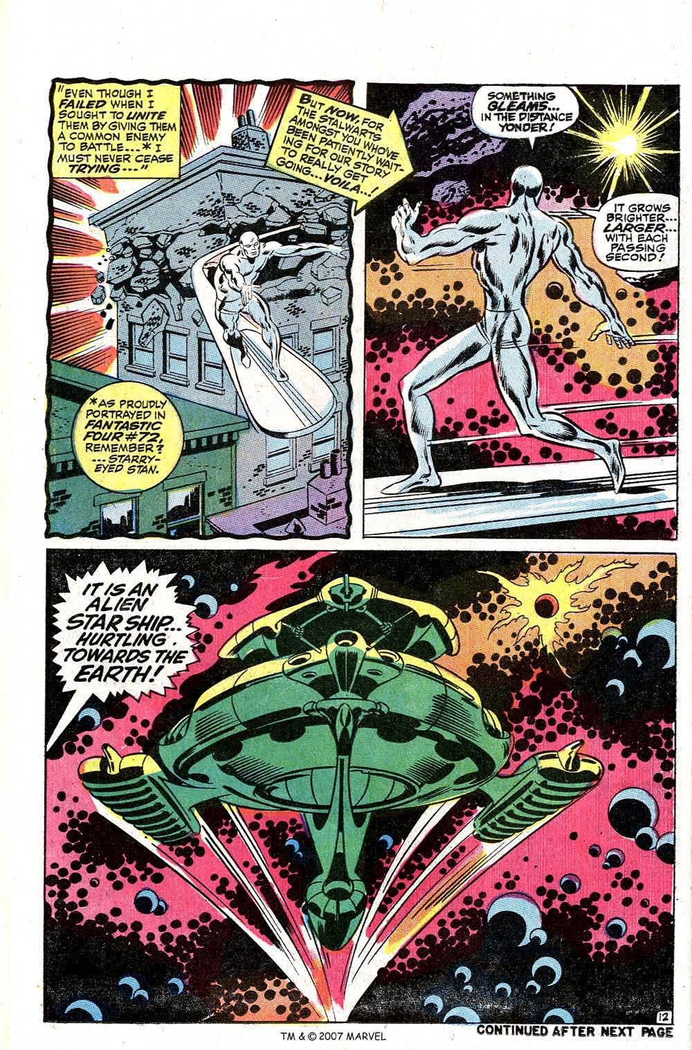 Read online Silver Surfer (1968) comic -  Issue #2 - 16