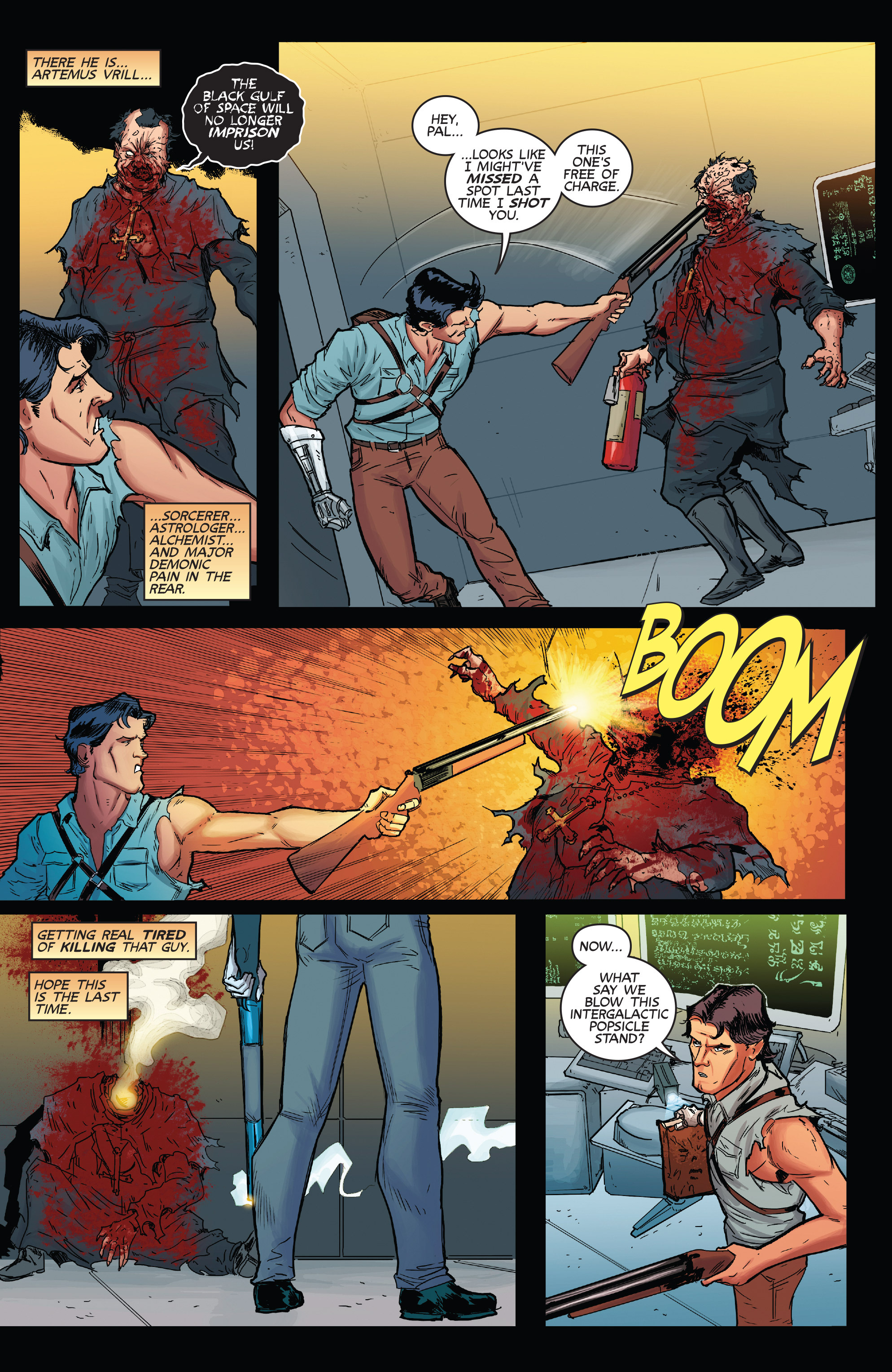 Read online Army of Darkness (2014) comic -  Issue #1 - 21