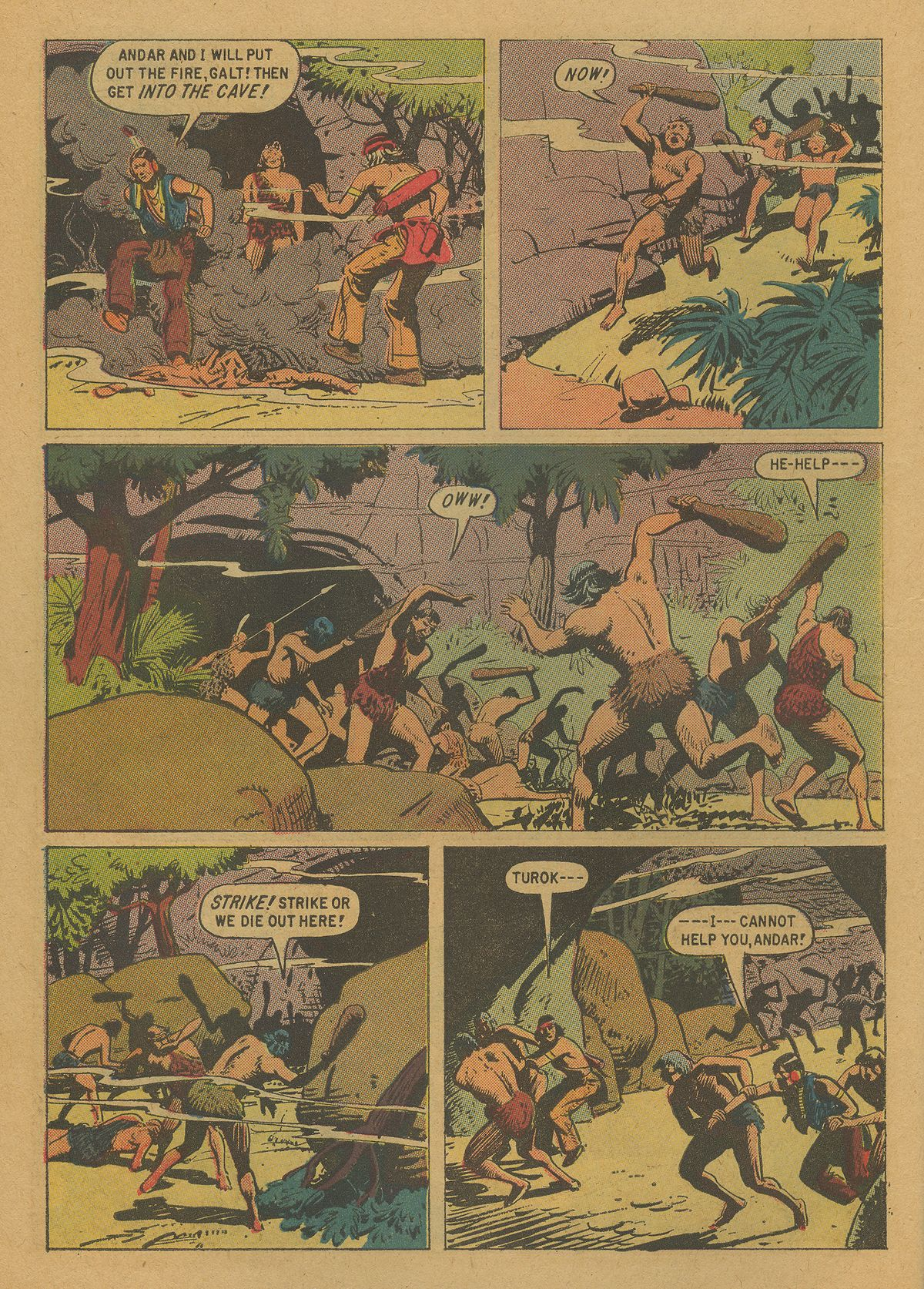 Read online Turok, Son of Stone comic -  Issue #20 - 10