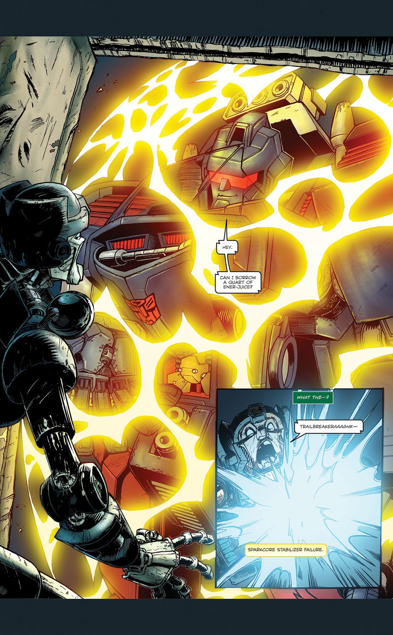 Read online Transformers Spotlight: Kup comic -  Issue # Full - 25
