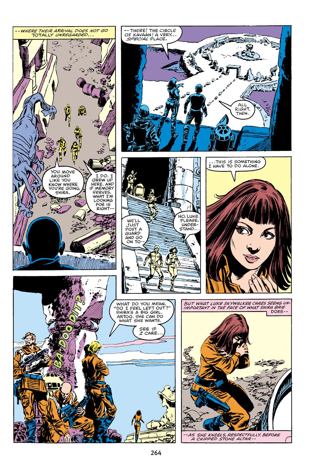 Read online Star Wars Omnibus comic -  Issue # Vol. 16 - 260