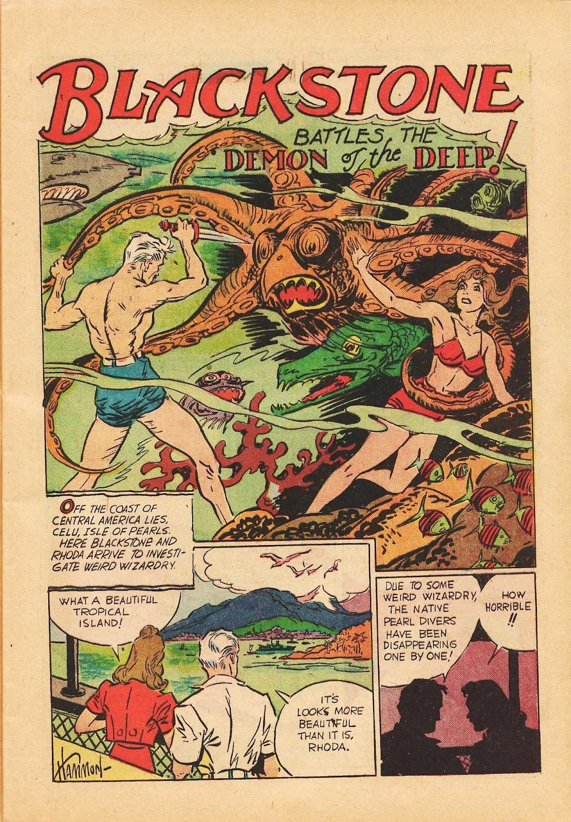 Super-Magician Comics issue 22 - Page 17