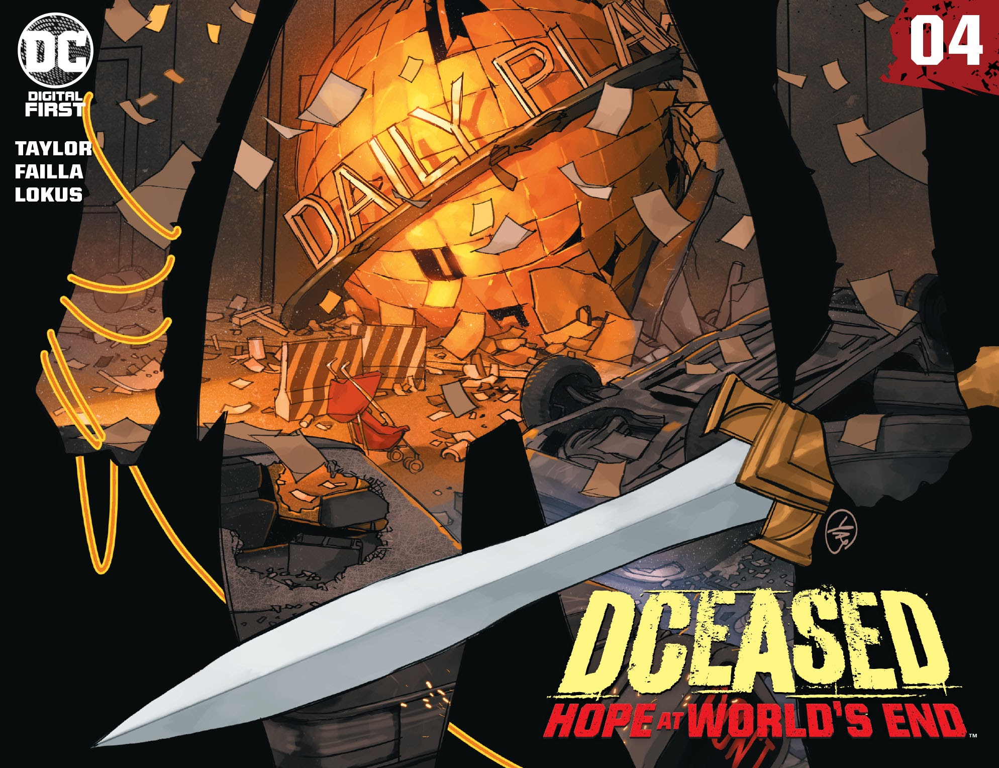 DCeased: Hope At Worlds End 4 Page 1