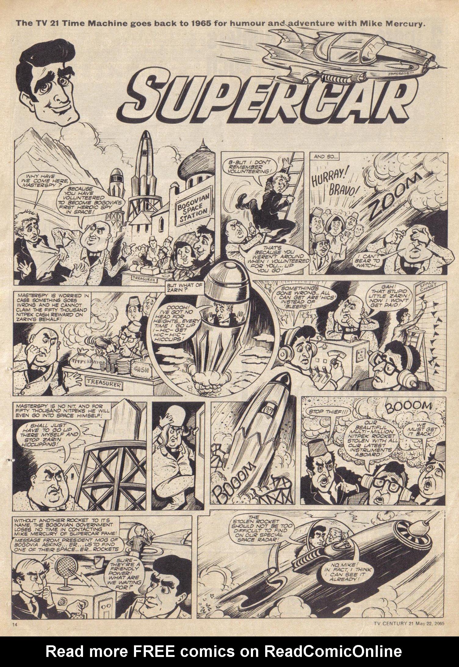 Read online TV Century 21 (TV 21) comic -  Issue #18 - 14
