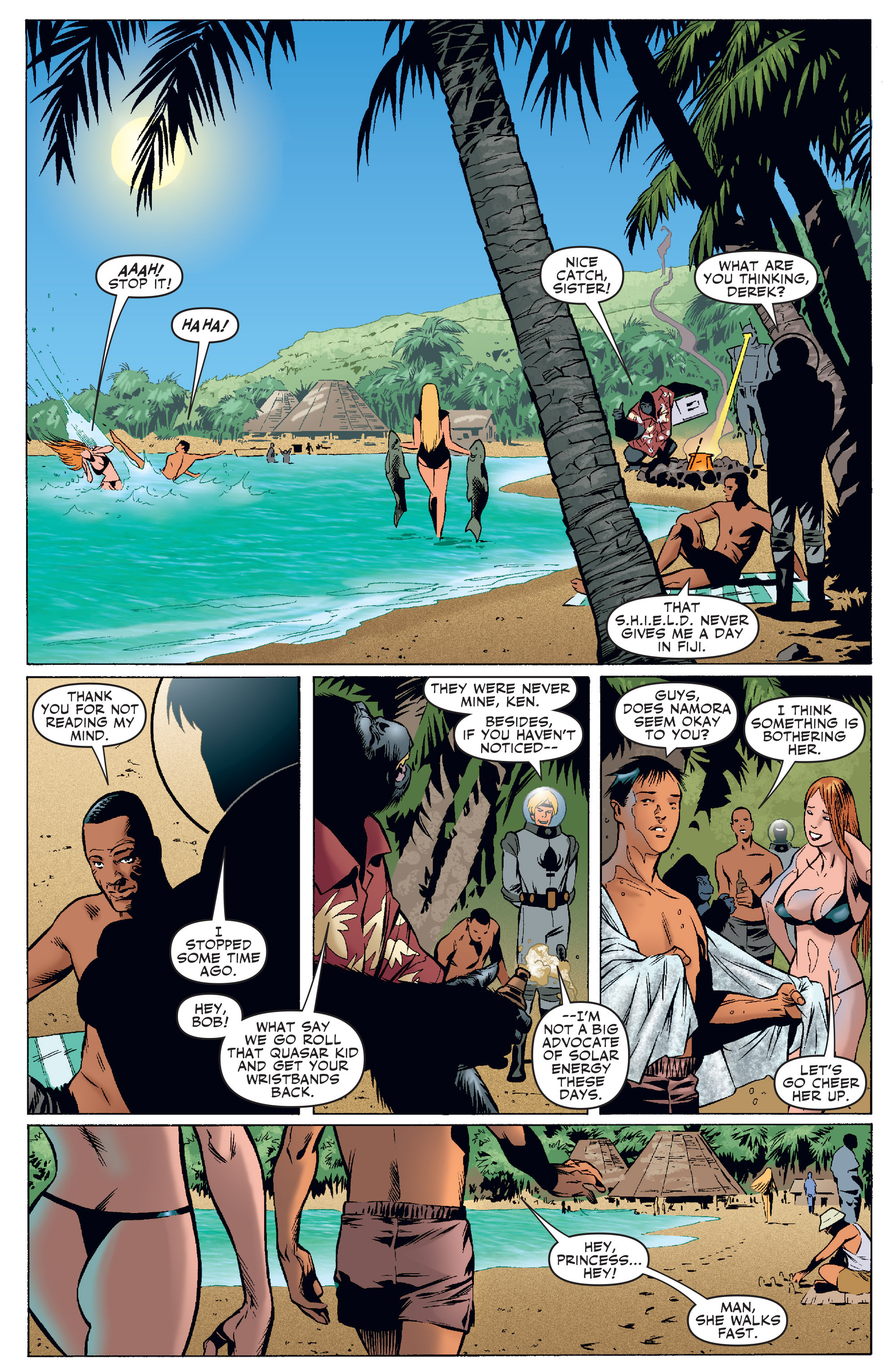 Read online Agents Of Atlas (2006) comic -  Issue #4 - 20