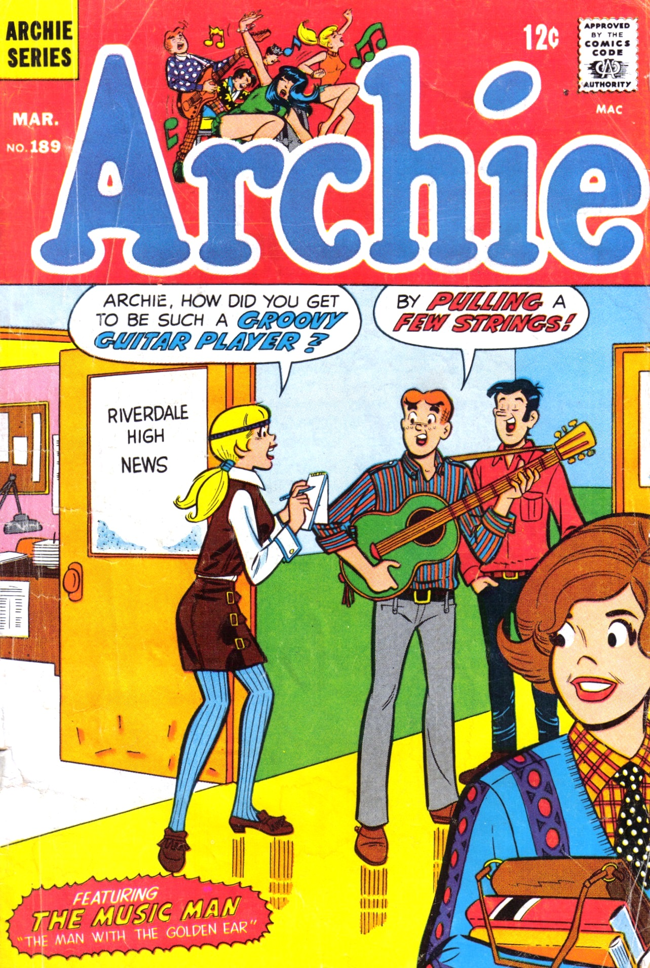 Read online Archie (1960) comic -  Issue #189 - 1