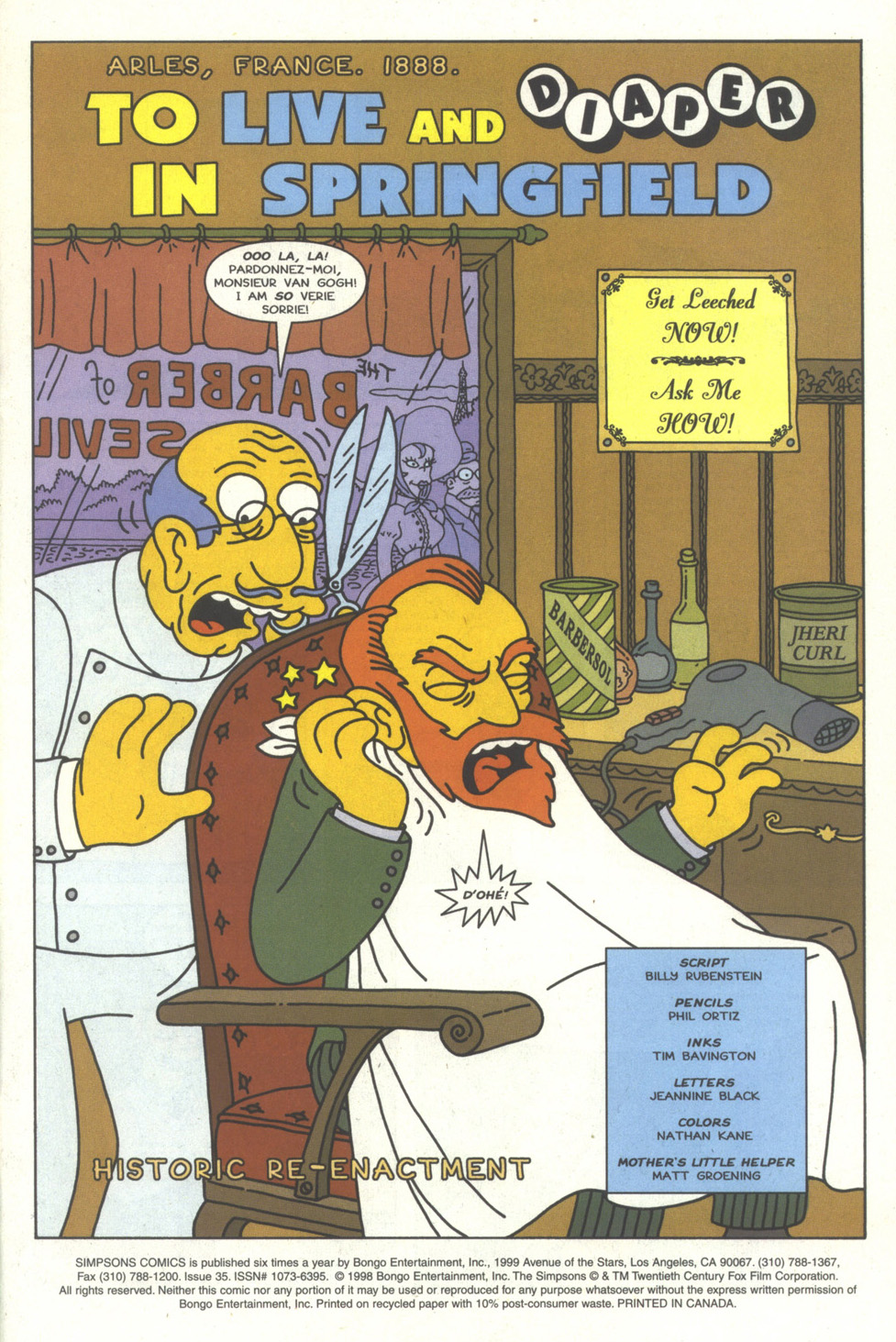 Read online Simpsons Comics comic -  Issue #35 - 2