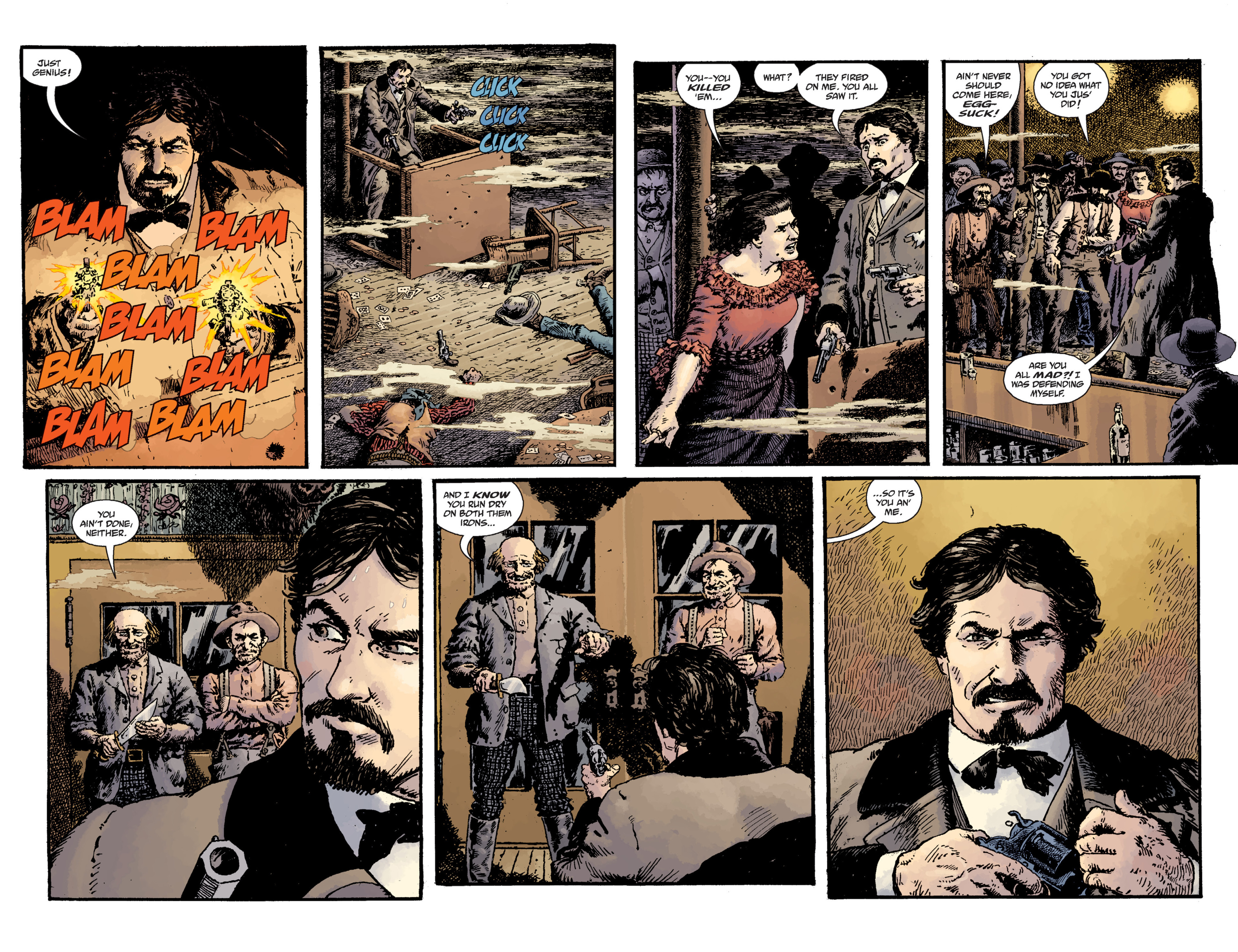 Read online Sir Edward Grey, Witchfinder: Lost and Gone Forever comic -  Issue # TPB - 19