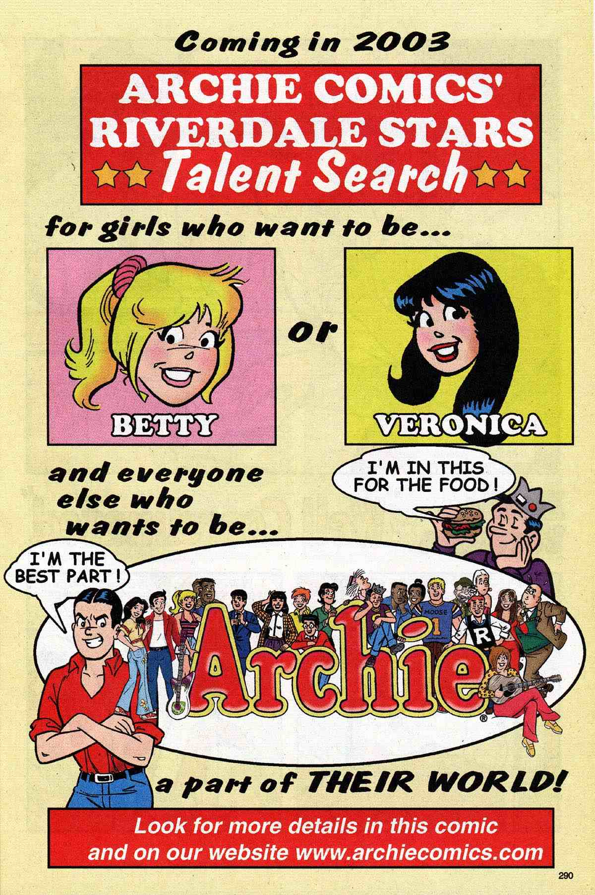 Read online Archie's Girls Betty and Veronica comic -  Issue #187 - 17