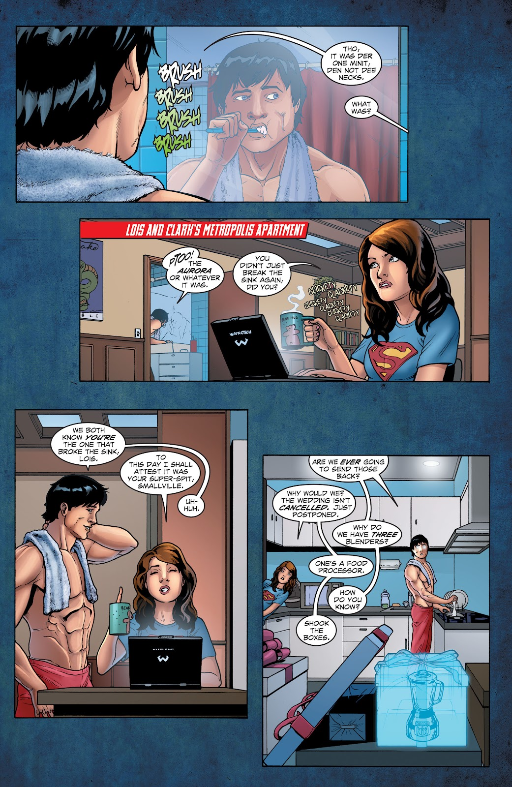 Read online Smallville Season 11 [II] comic -  Issue # TPB 1 - 17