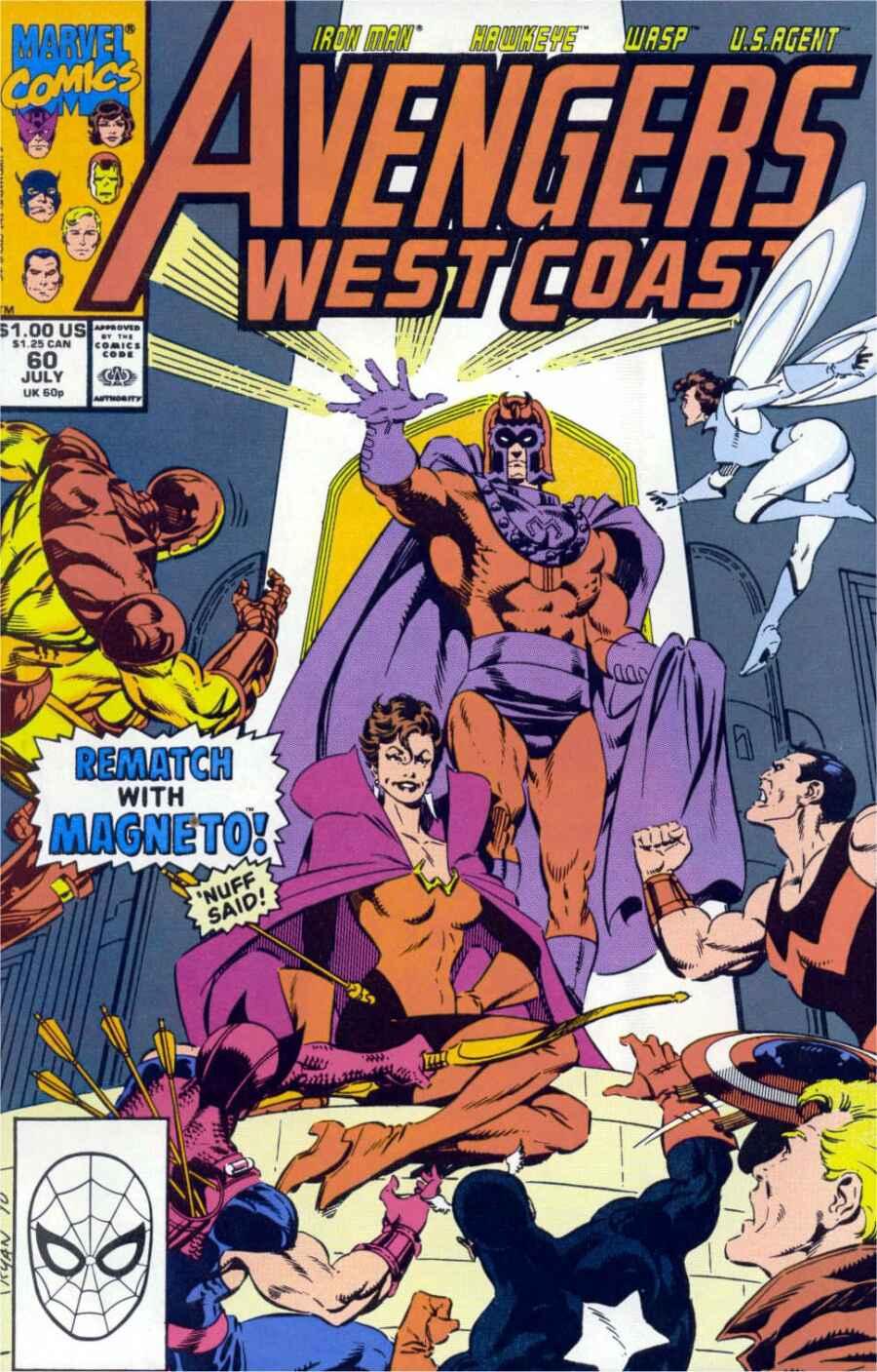 Avengers West Coast (1989) 60 Page 1