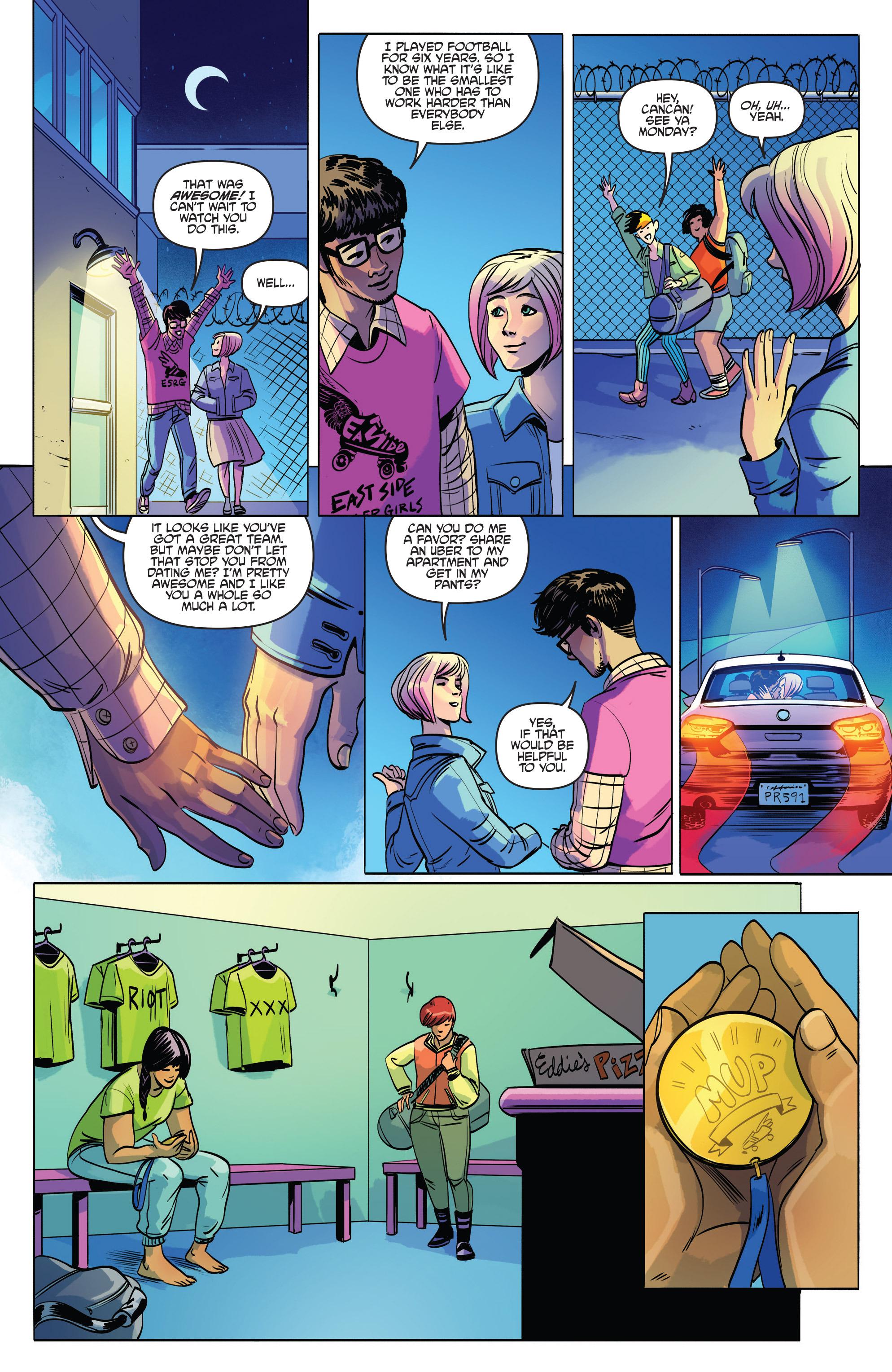 Read online Slam! comic -  Issue #2 - 23