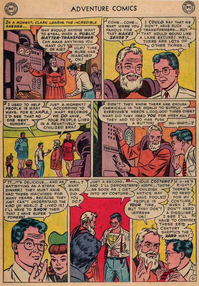 Read online Adventure Comics (1938) comic -  Issue #187 - 8