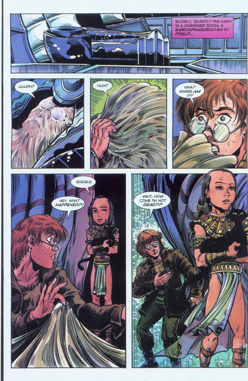 Read online Stargate comic -  Issue #3 - 12