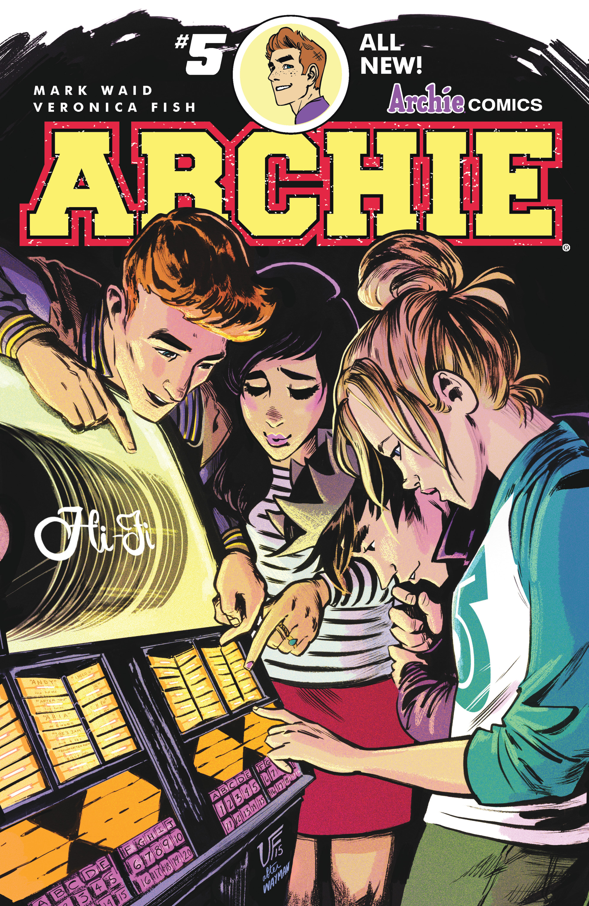 Read online Archie (2015) comic -  Issue #5 - 1