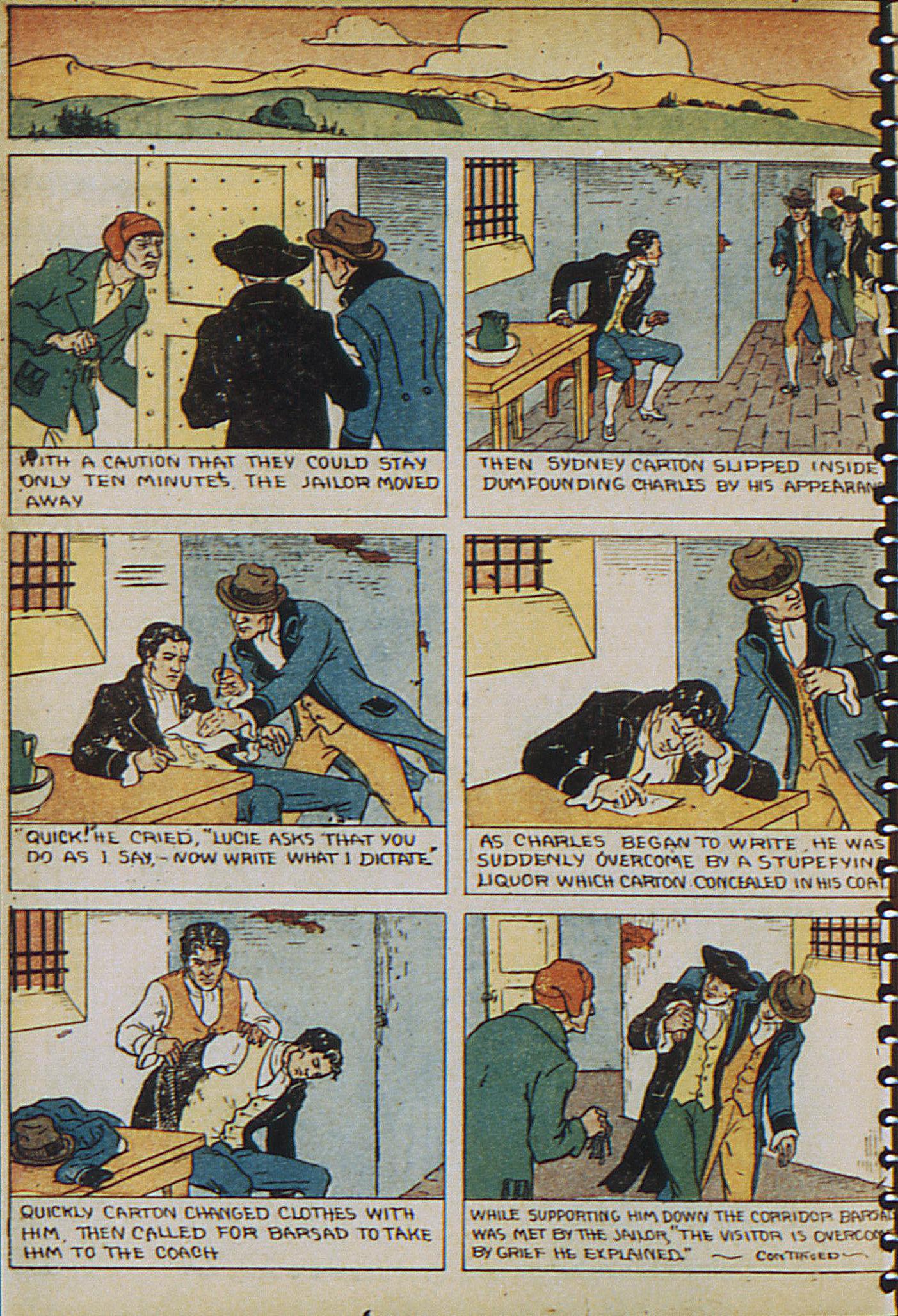 Read online Adventure Comics (1938) comic -  Issue #23 - 10