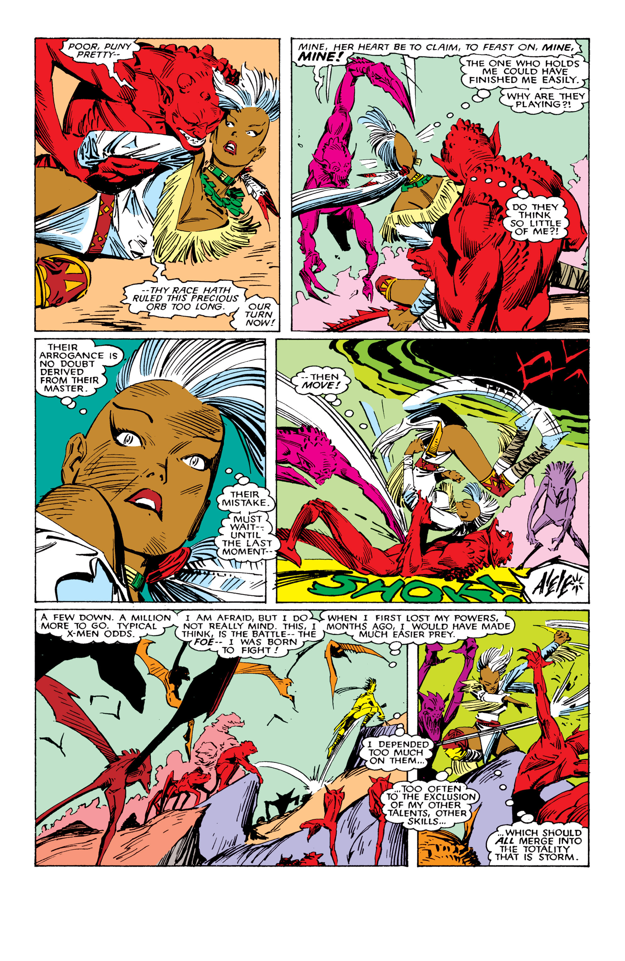 Read online Uncanny X-Men (1963) comic -  Issue #224 - 21