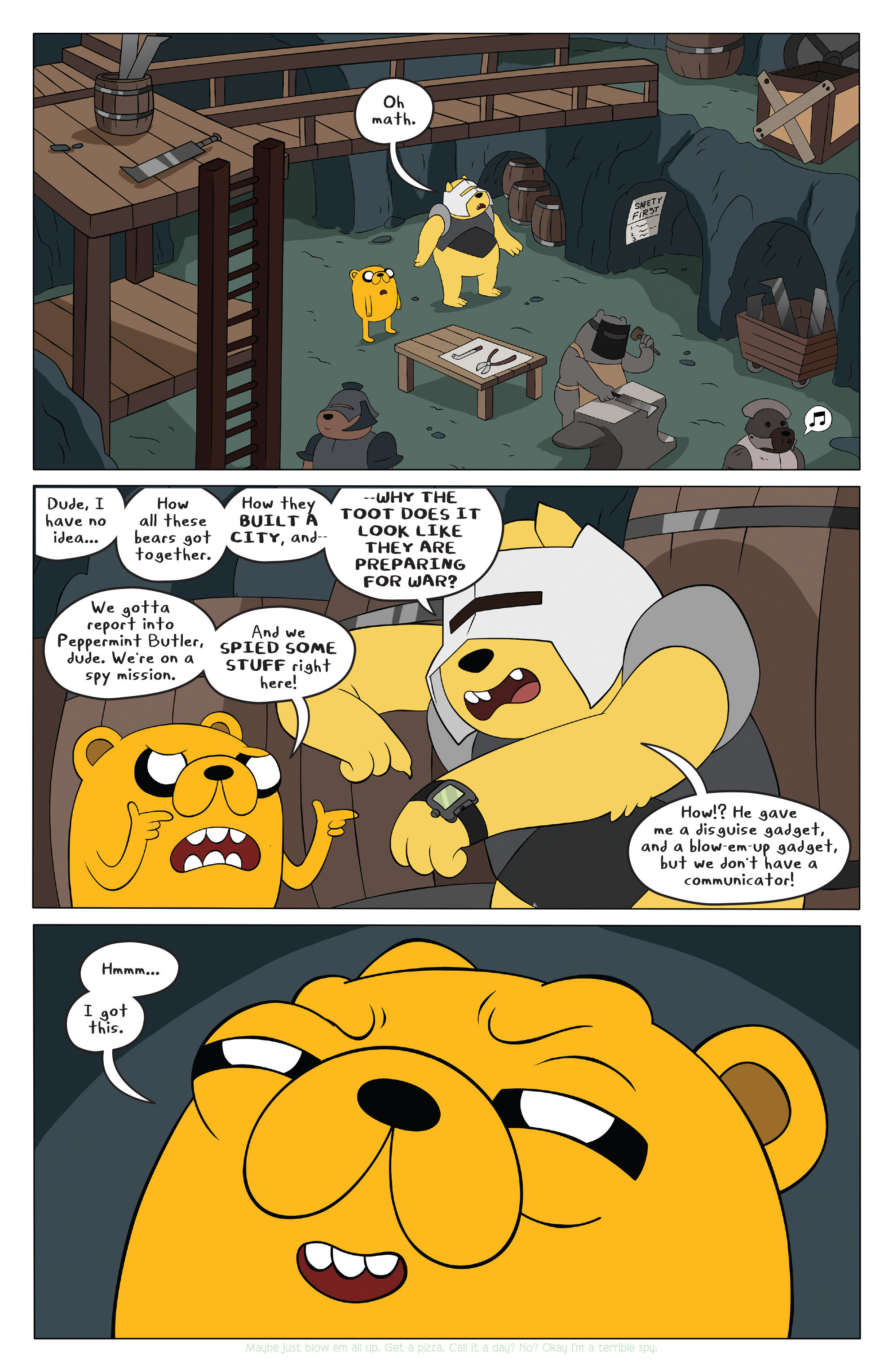Read online Adventure Time comic -  Issue #42 - 9