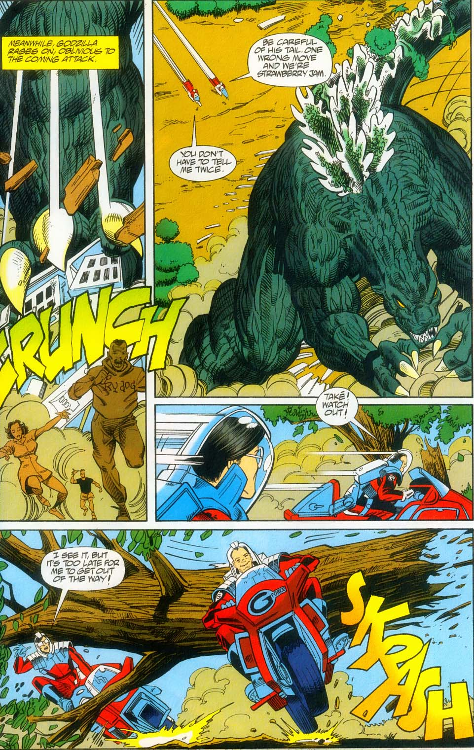 Godzilla (1995) Issue #14 #15 - English 14