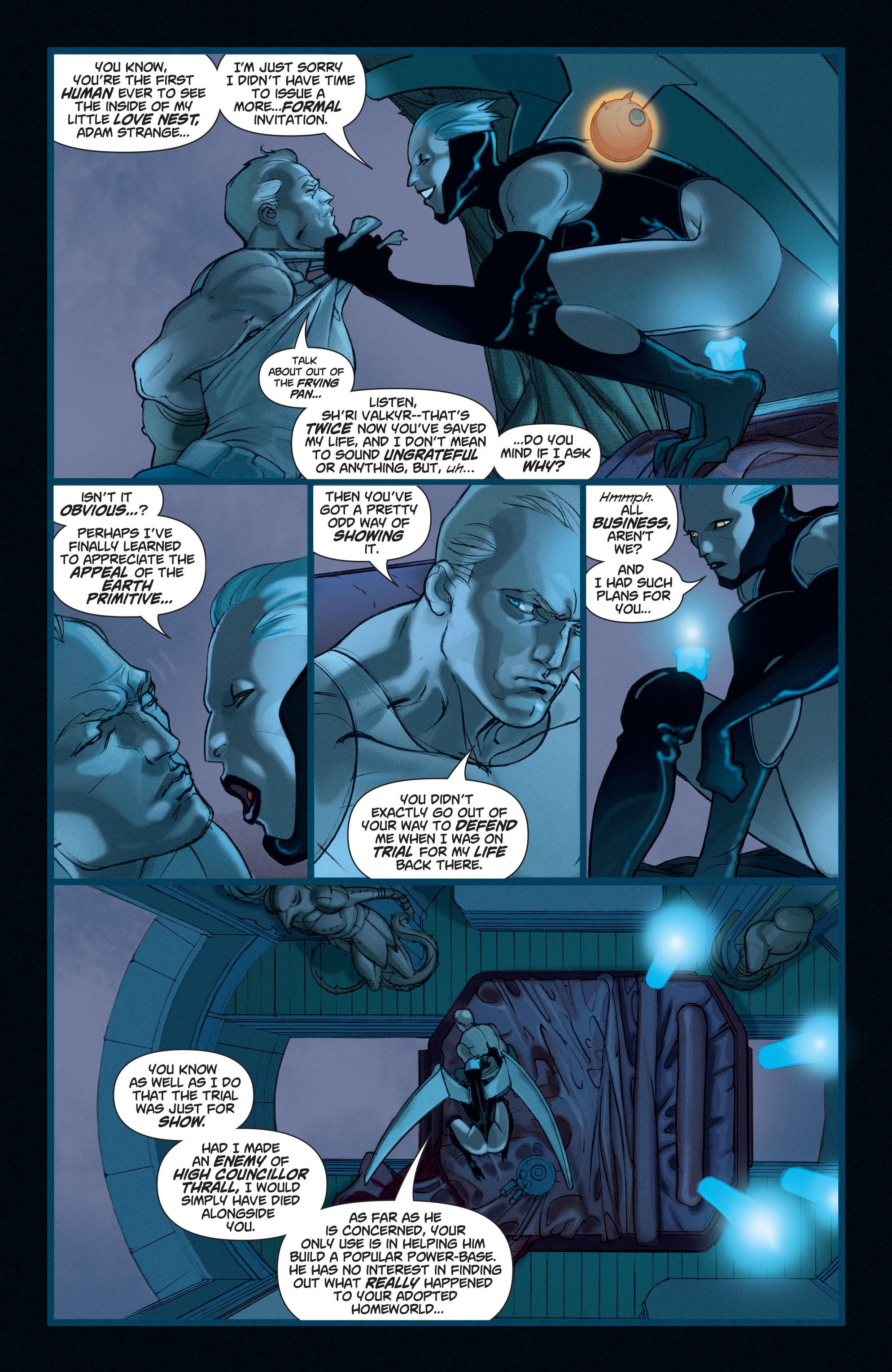 Read online Adam Strange (2004) comic -  Issue #4 - 4