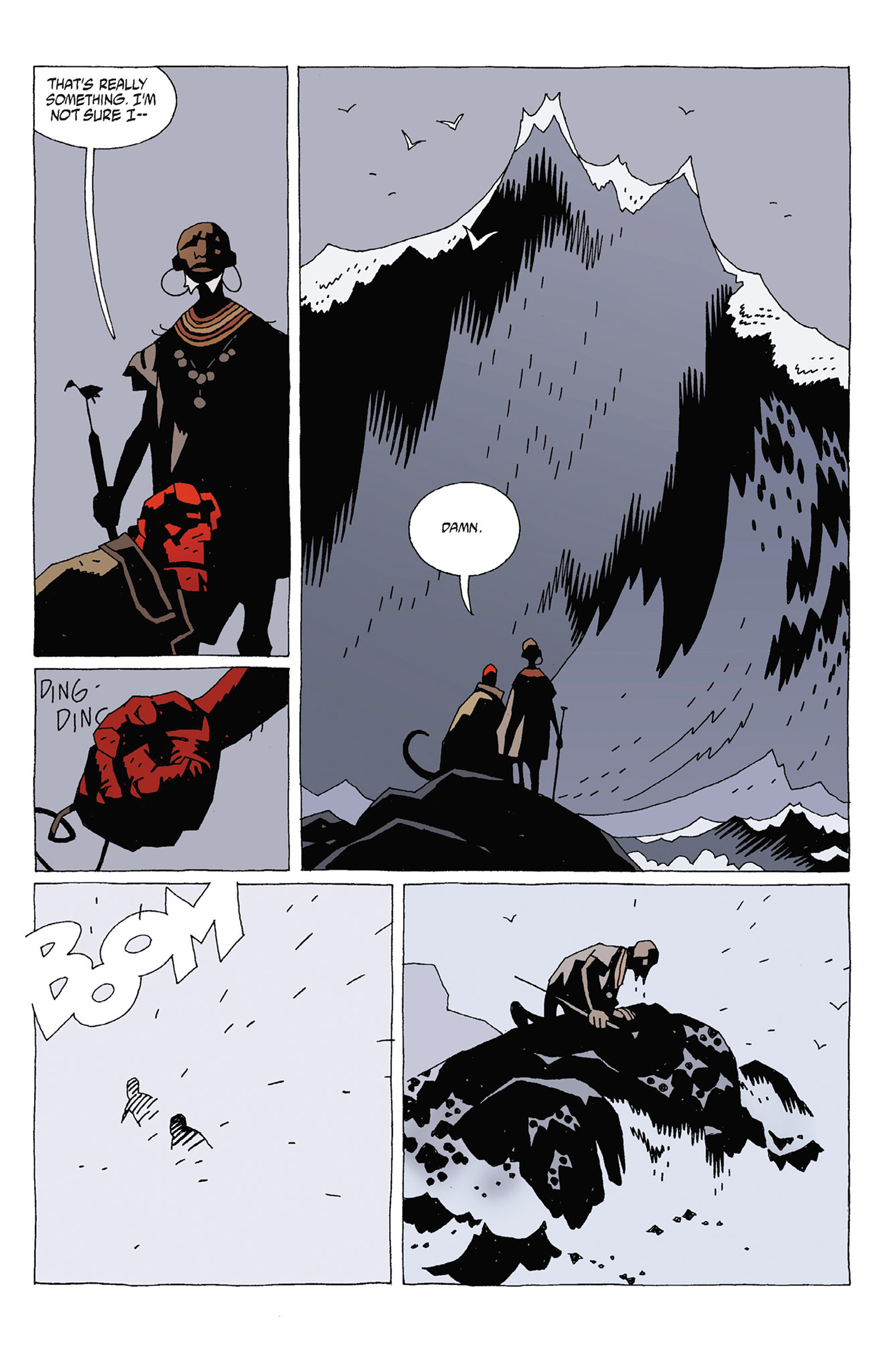 Read online Hellboy: Strange Places comic -  Issue # TPB - 19