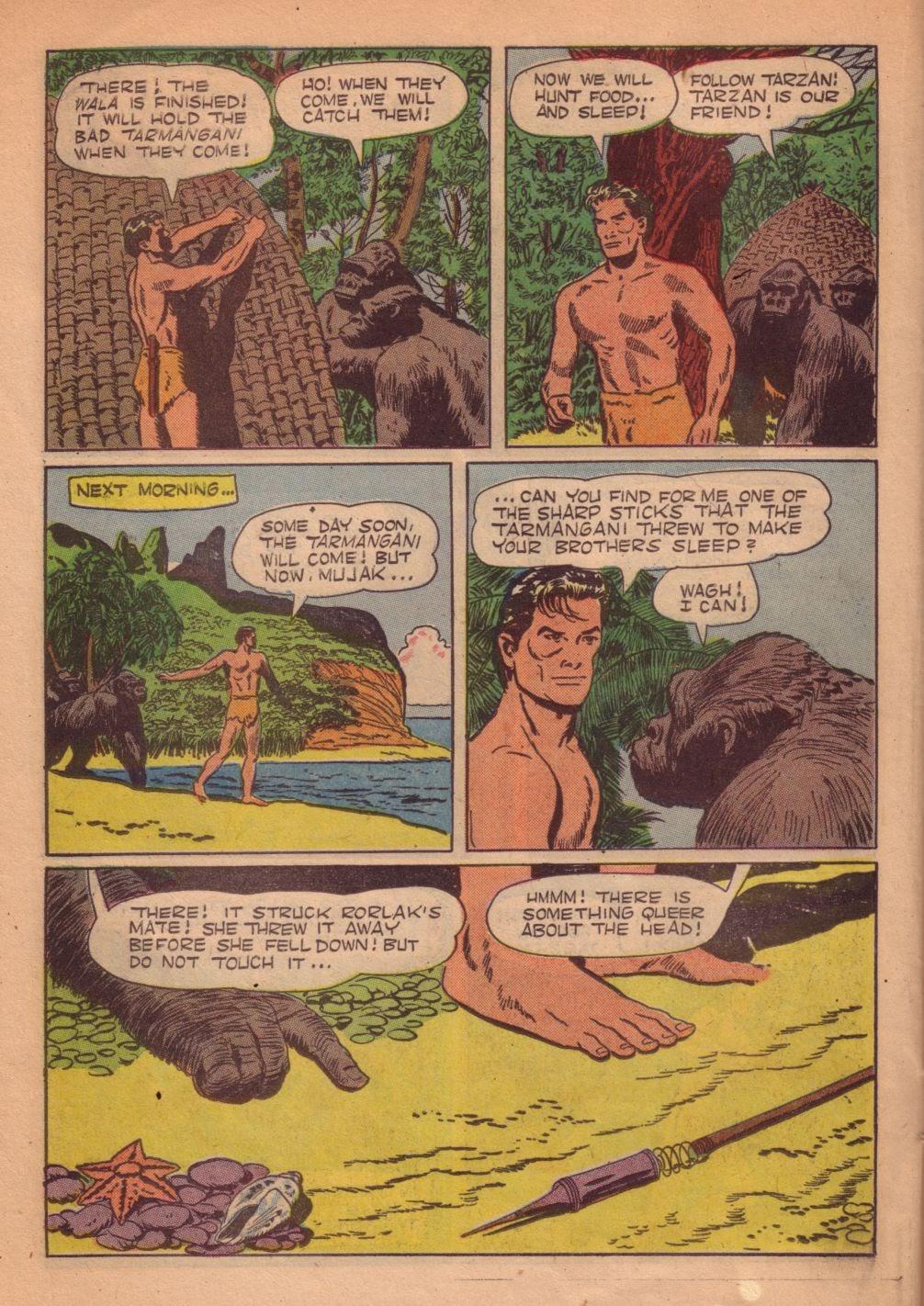 Tarzan (1948) issue 55 - Page 34