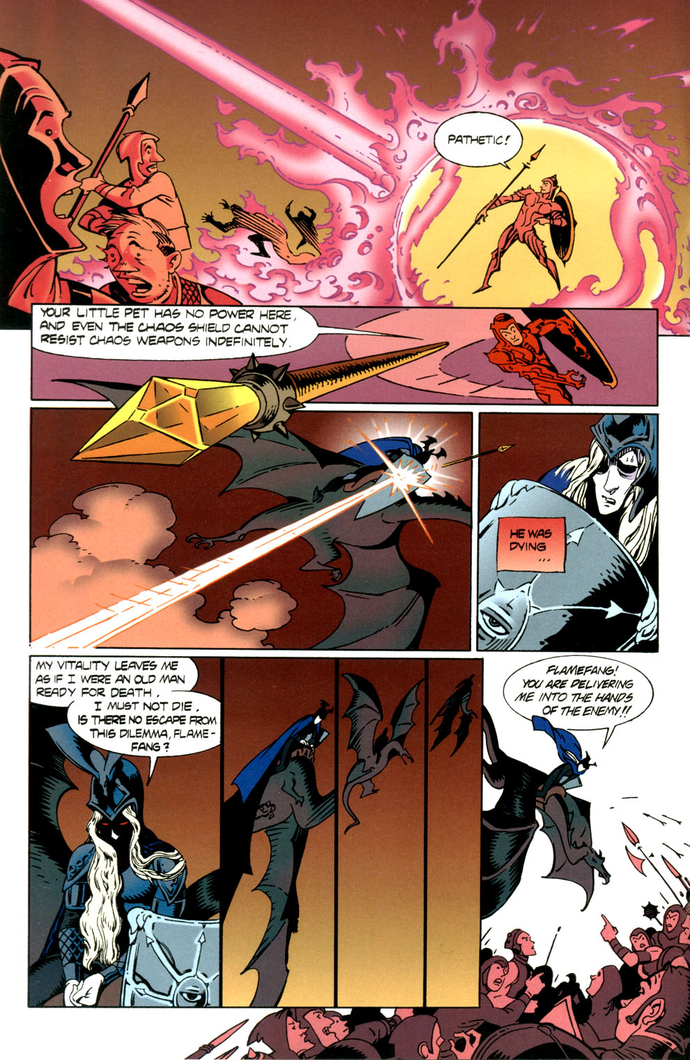 Read online Elric: Stormbringer comic -  Issue #7 - 4