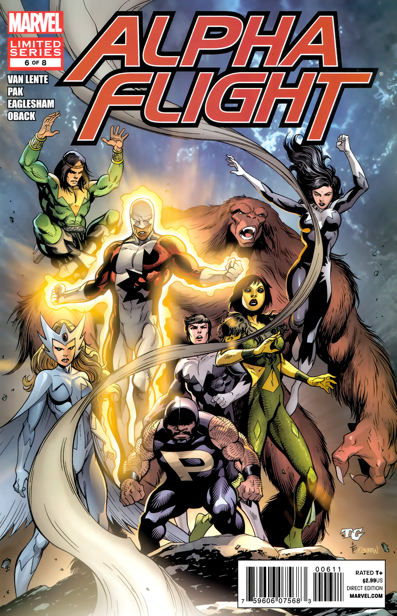 Read online Alpha Flight (2011) comic -  Issue #6 - 1