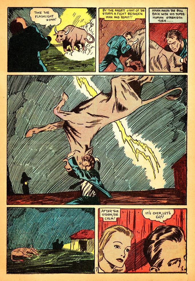 Read online Amazing Man Comics comic -  Issue #12 - 9