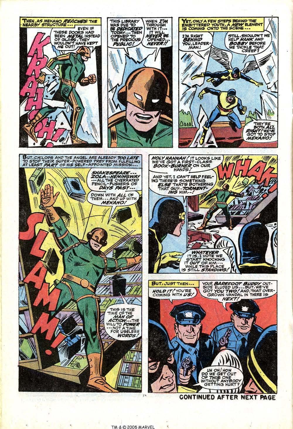 Uncanny X-Men (1963) 84 Page 19
