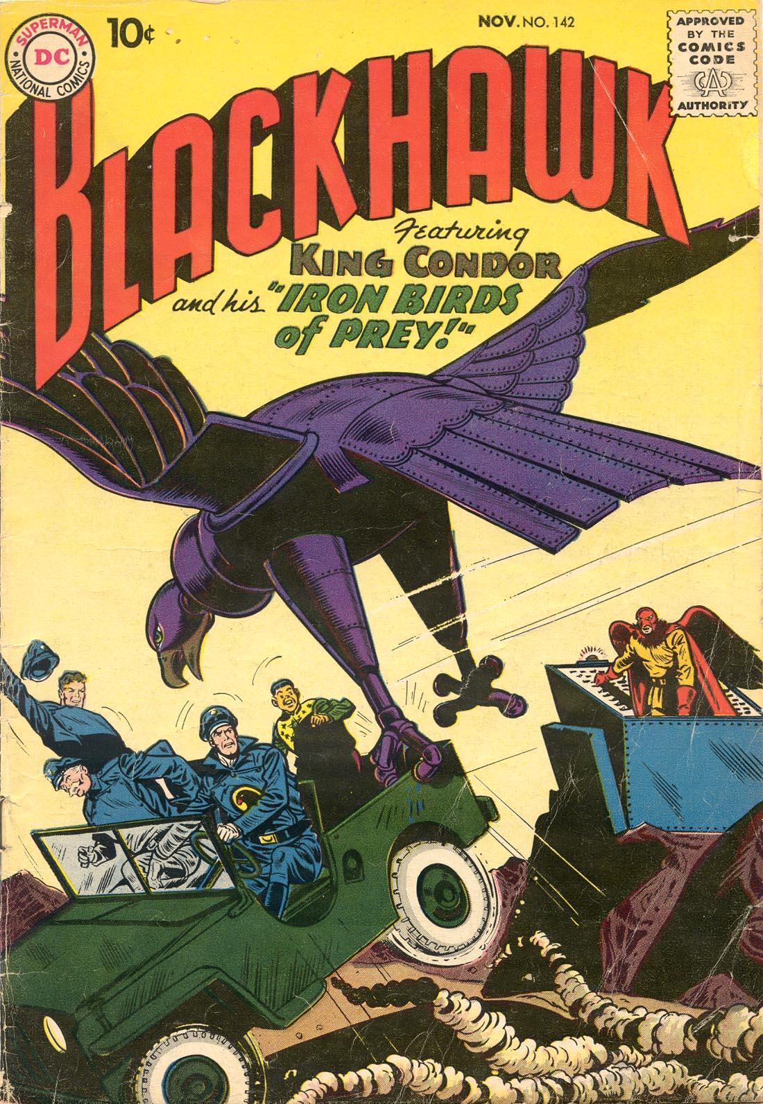 Blackhawk (1957) 142 Page 1