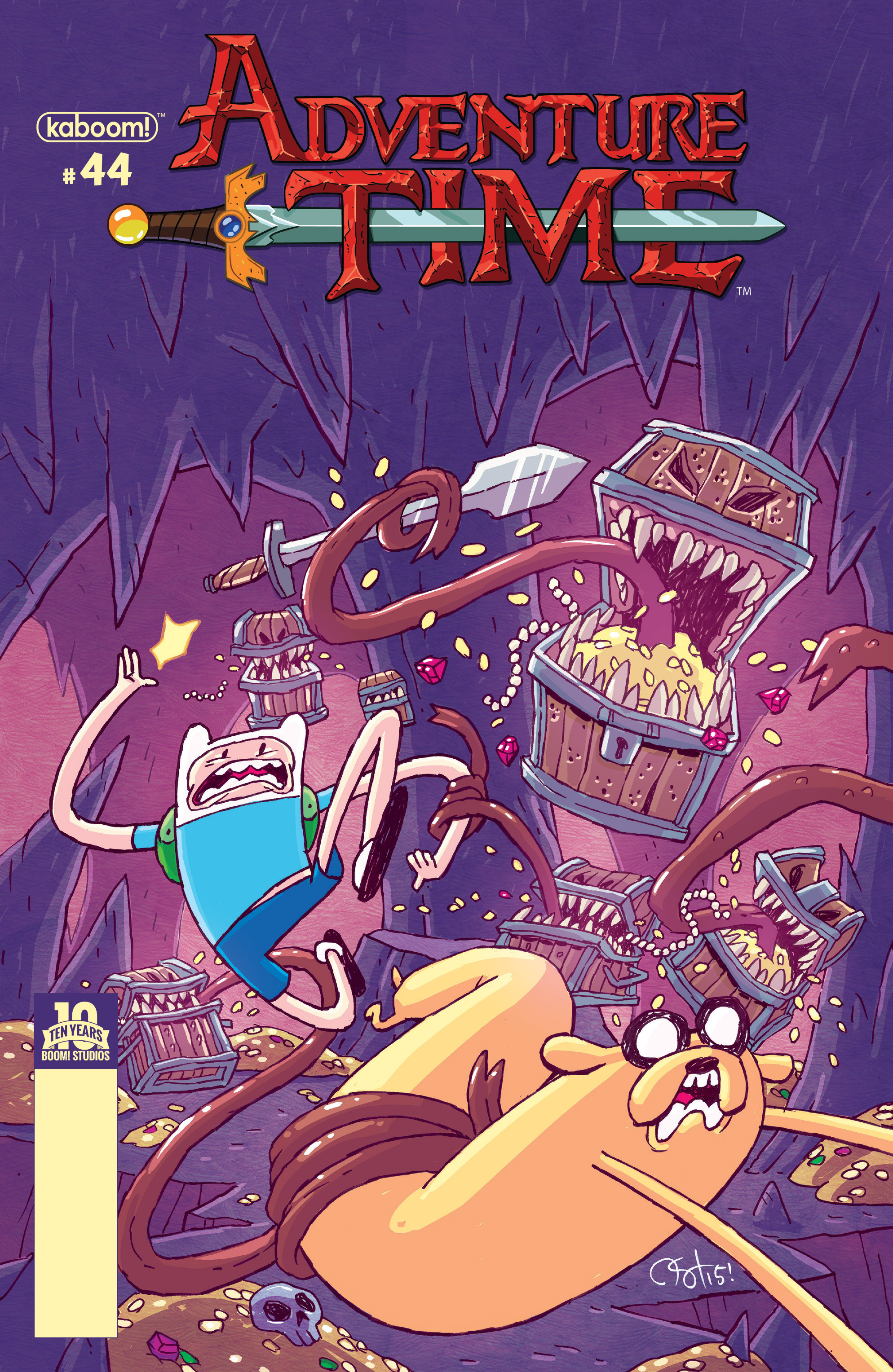Adventure Time 44 Page 1