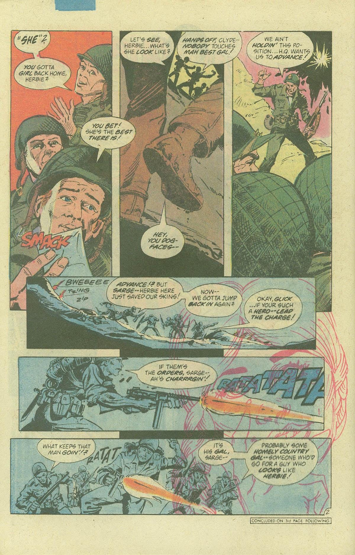 Read online Sgt. Rock comic -  Issue #378 - 27