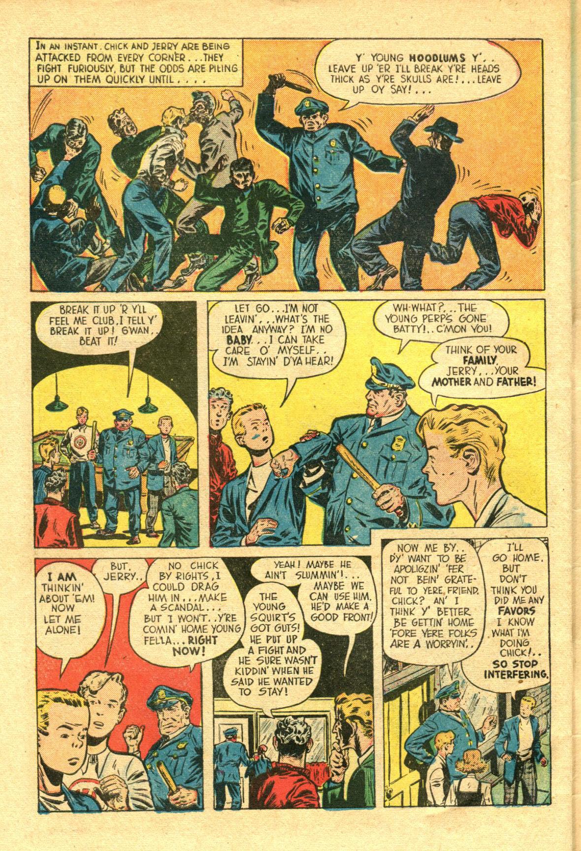Read online Shadow Comics comic -  Issue #98 - 46