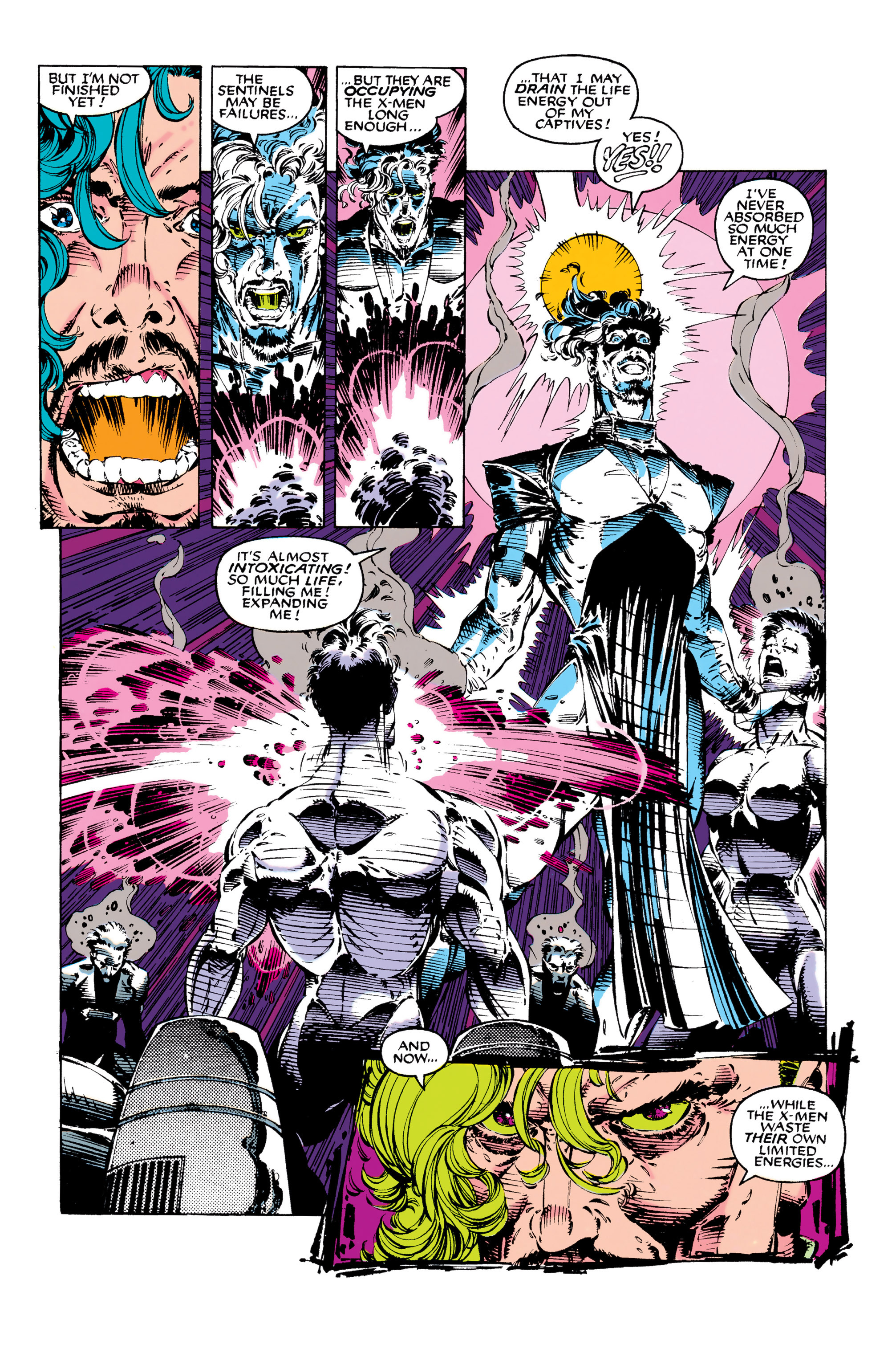 Read online Uncanny X-Men (1963) comic -  Issue #282 - 18