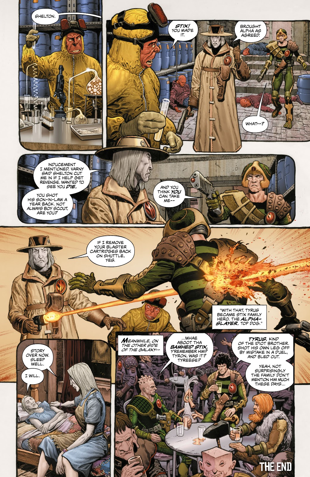 Read online 2000 AD Villains Special comic -  Issue # Full - 29