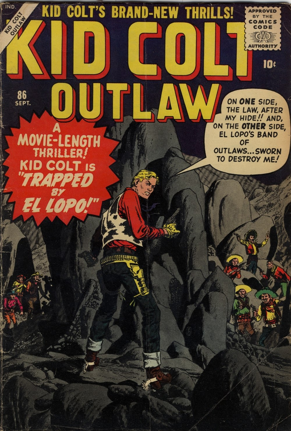 Kid Colt Outlaw issue 86 - Page 1