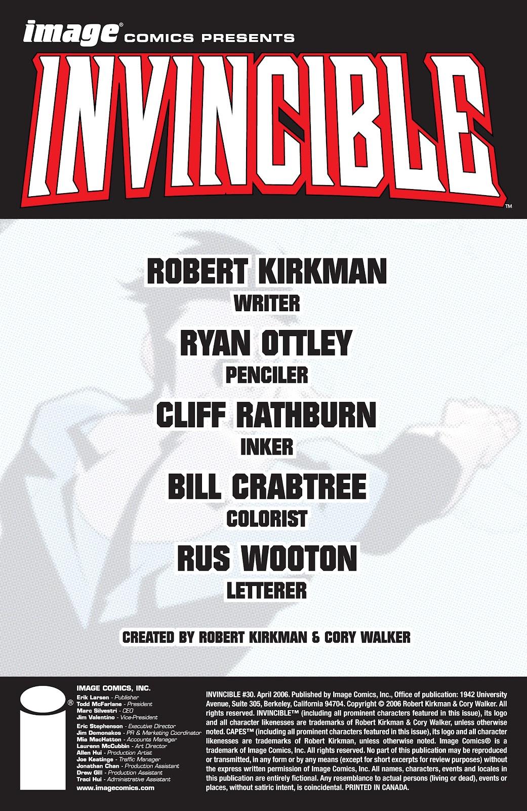 Invincible (2003) 30 Page 2