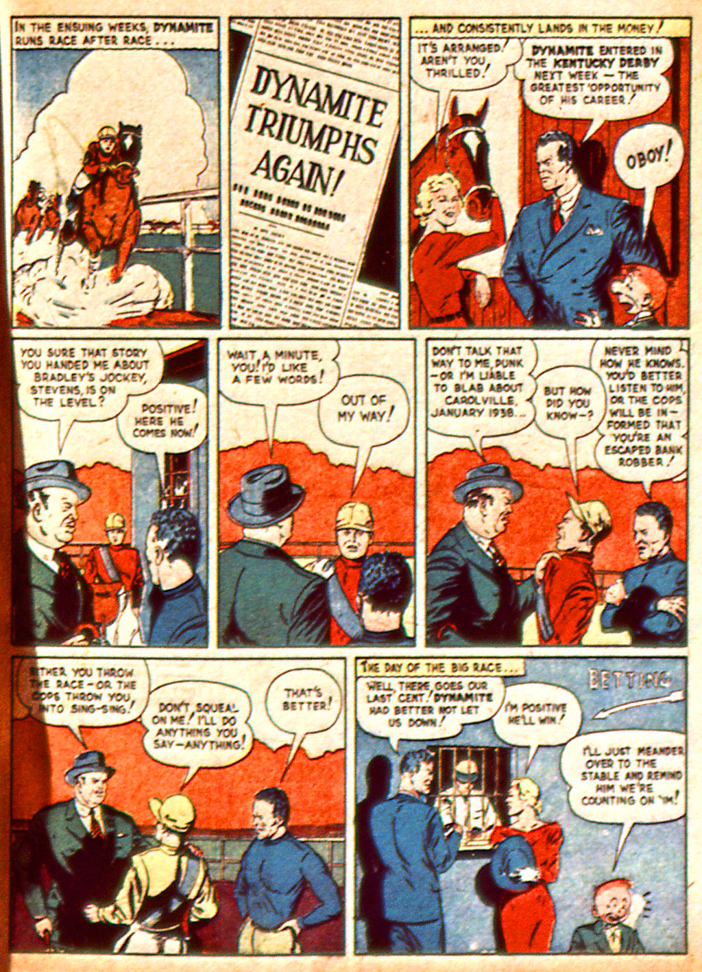 Read online Detective Comics (1937) comic -  Issue #37 - 64