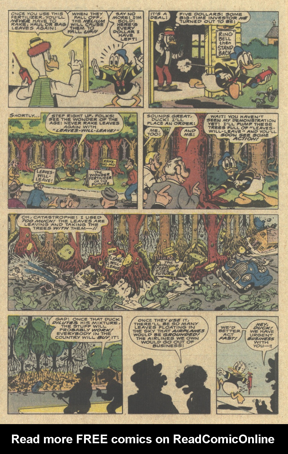 Read online Uncle Scrooge (1953) comic -  Issue #220 - 12