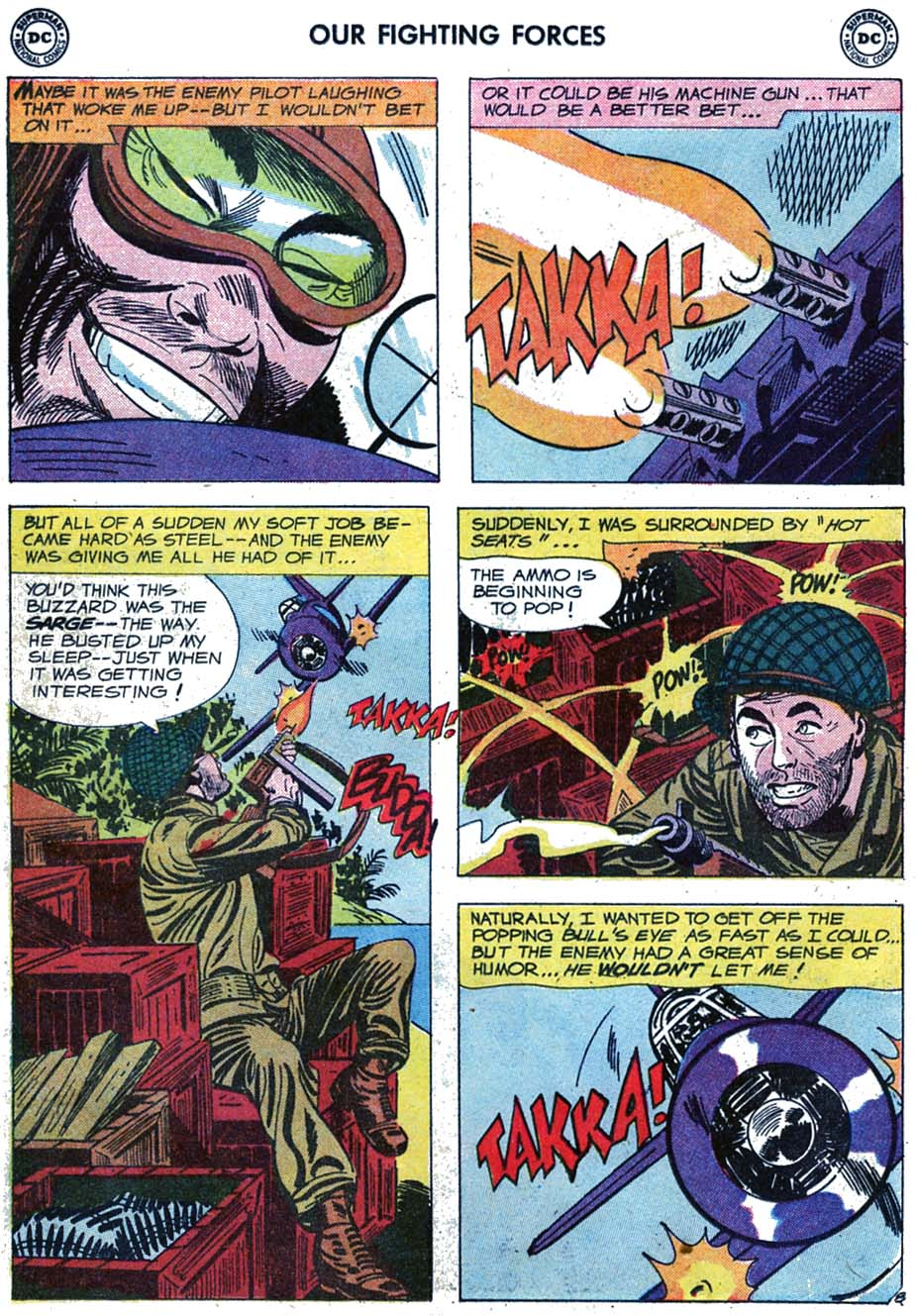 Our Fighting Forces (1954) issue 46 - Page 10