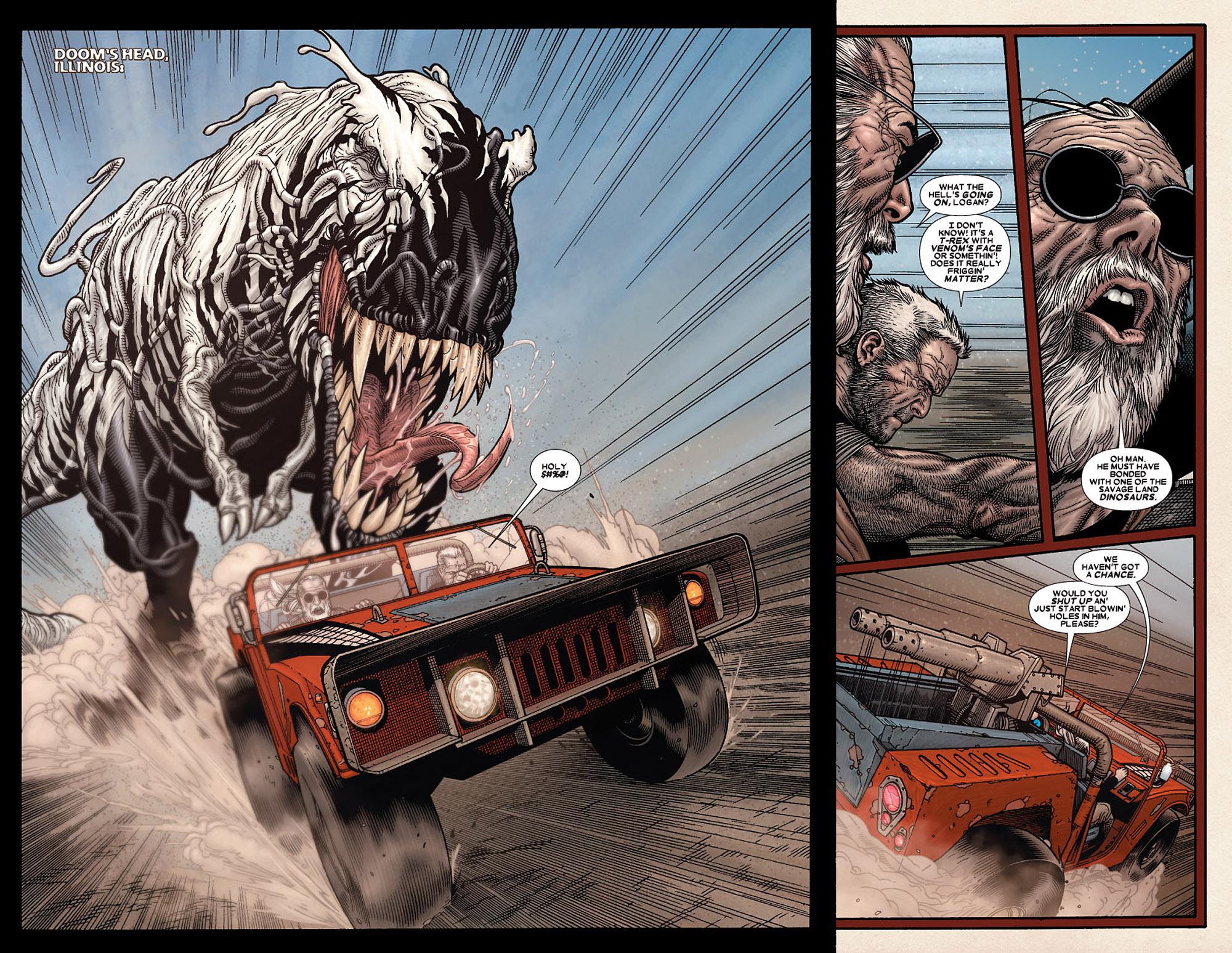 Read online Wolverine: Old Man Logan comic -  Issue # Full - 117