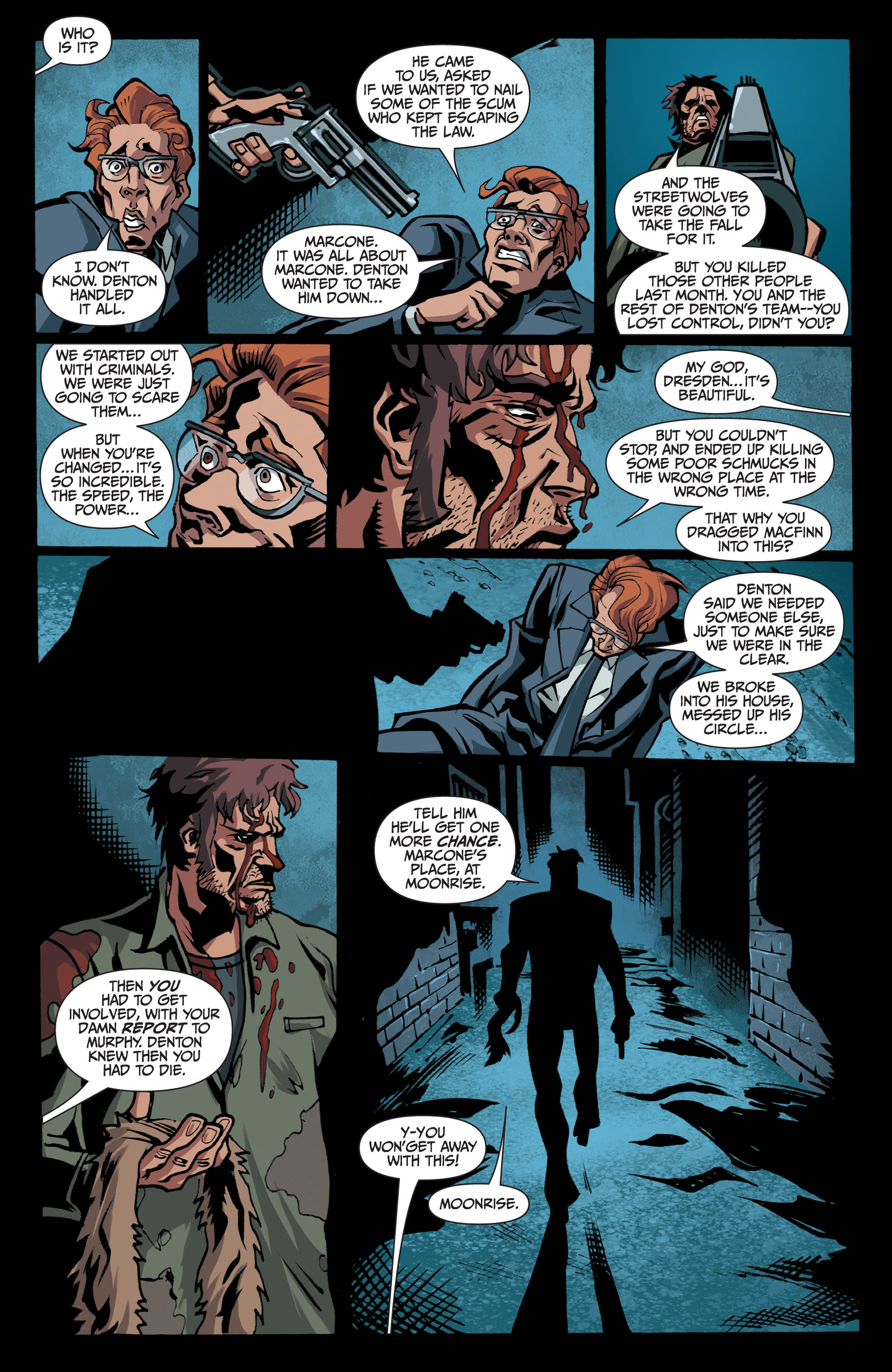 Read online Jim Butcher's The Dresden Files: Fool Moon comic -  Issue #7 - 12