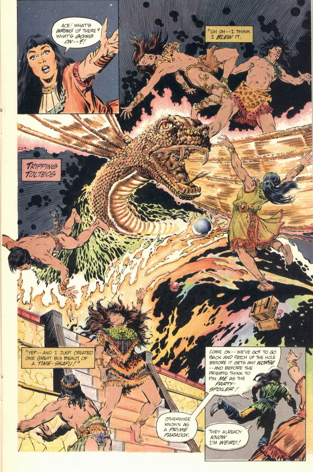 Read online Aztec Ace comic -  Issue #1 - 25