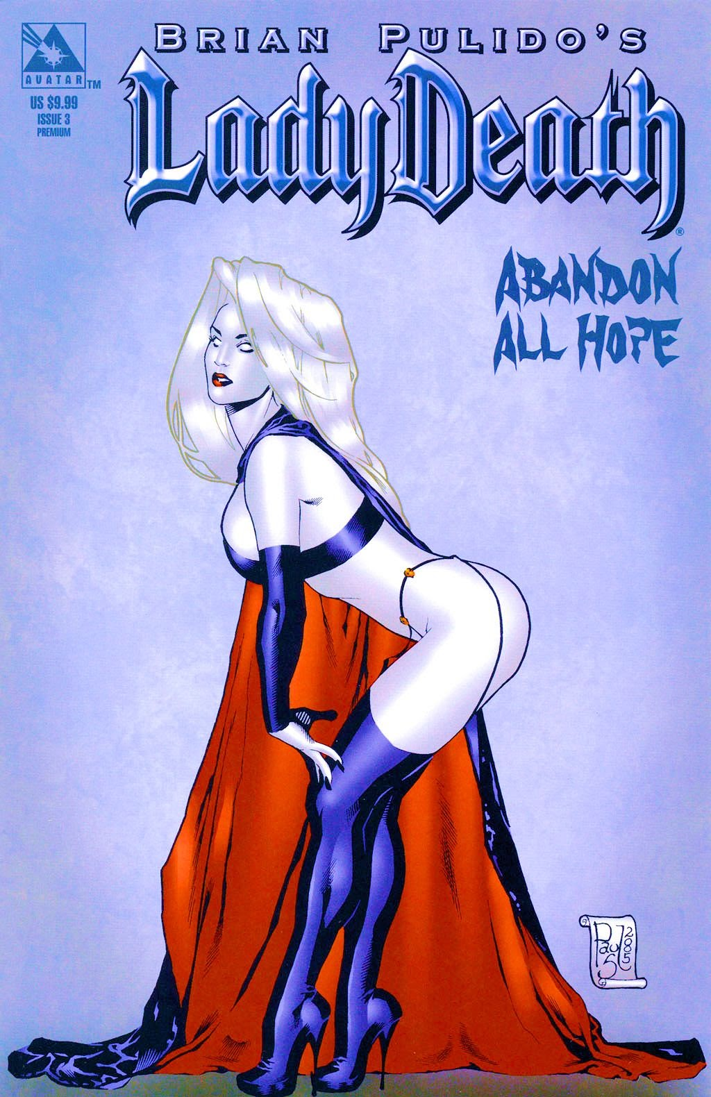 Brian Pulidos Lady Death: Abandon All Hope 3 Page 1