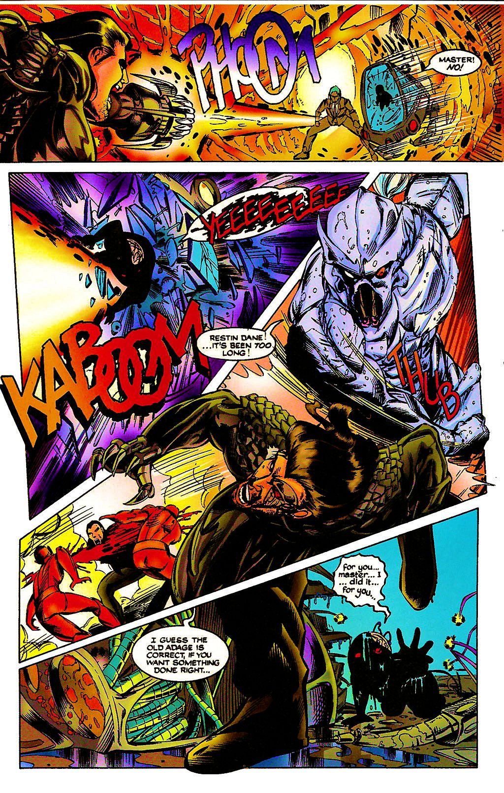 Read online Chains of Chaos comic -  Issue #3 - 20