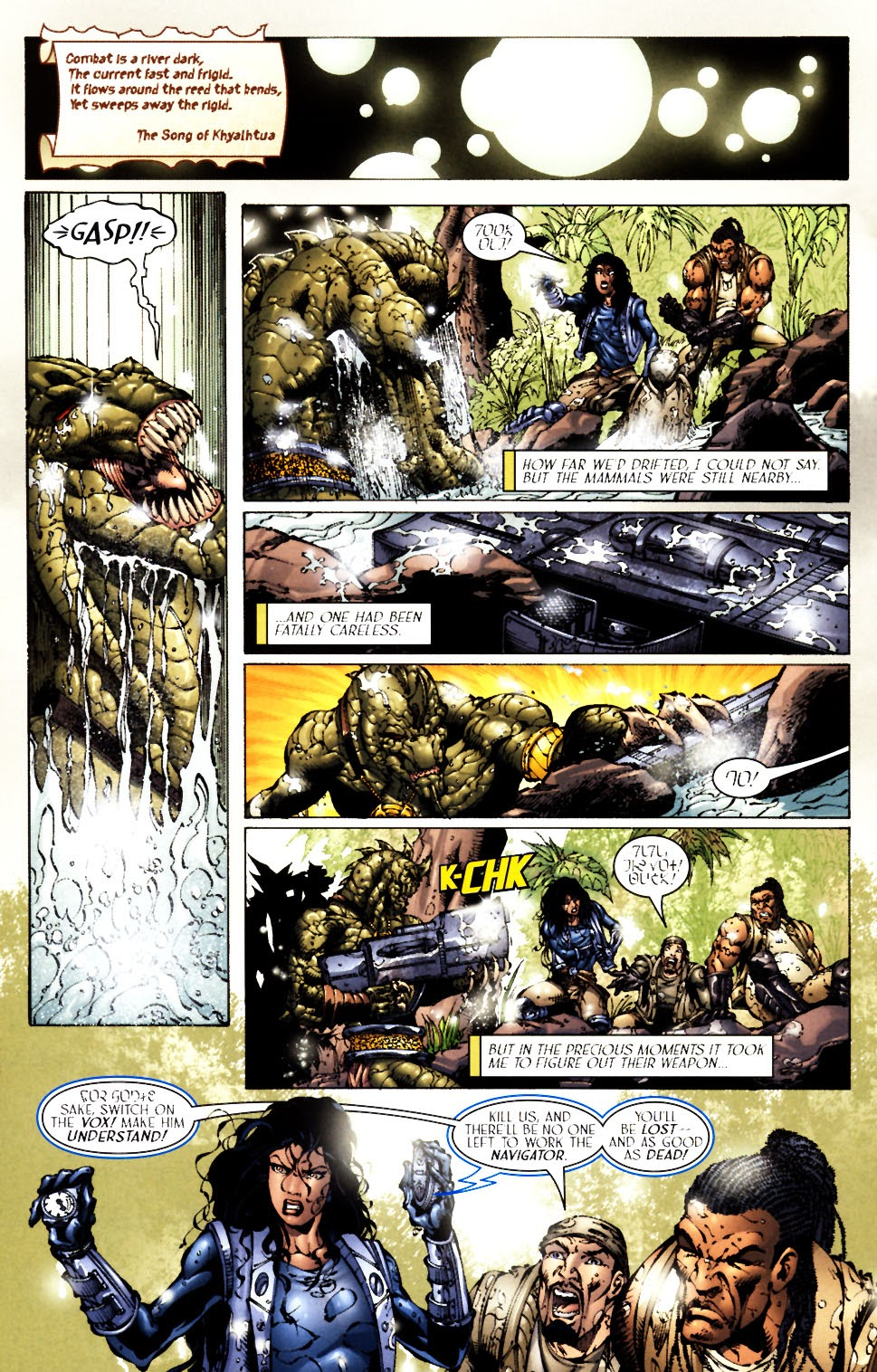Read online Saurians: Unnatural Selection comic -  Issue #1 - 9