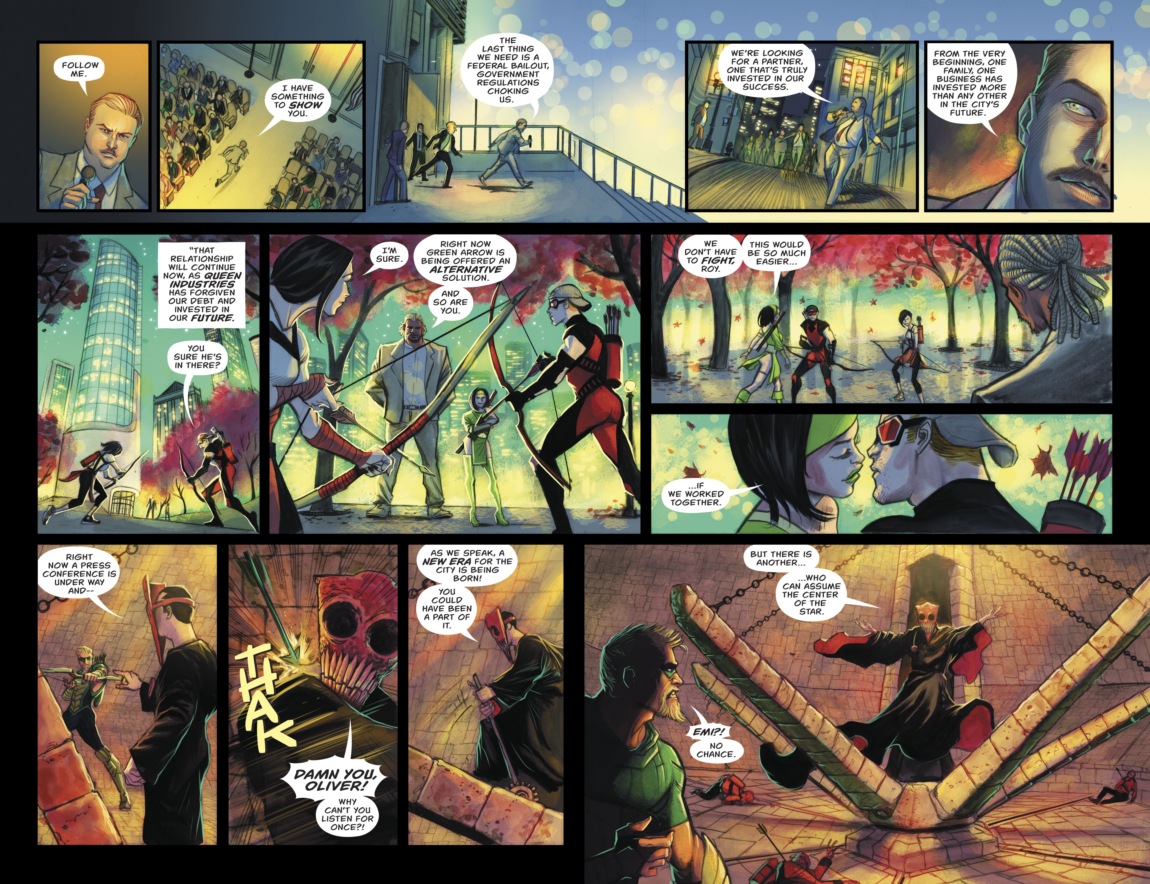 Read online Green Arrow (2016) comic -  Issue #24 - 11