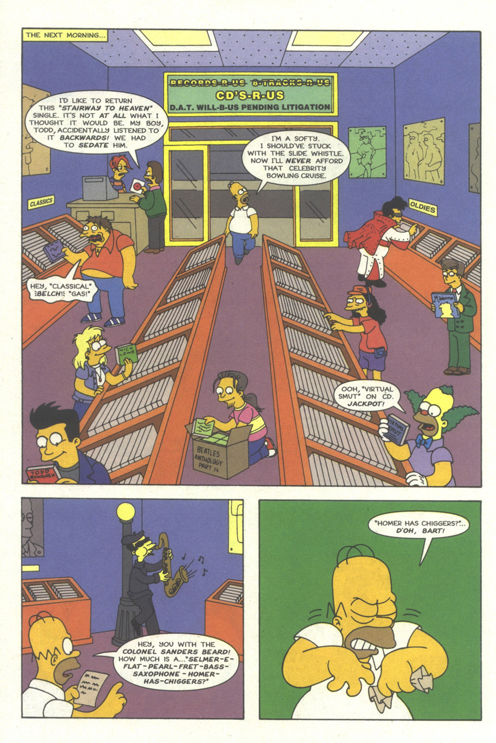 Read online Simpsons Comics comic -  Issue #27 - 5