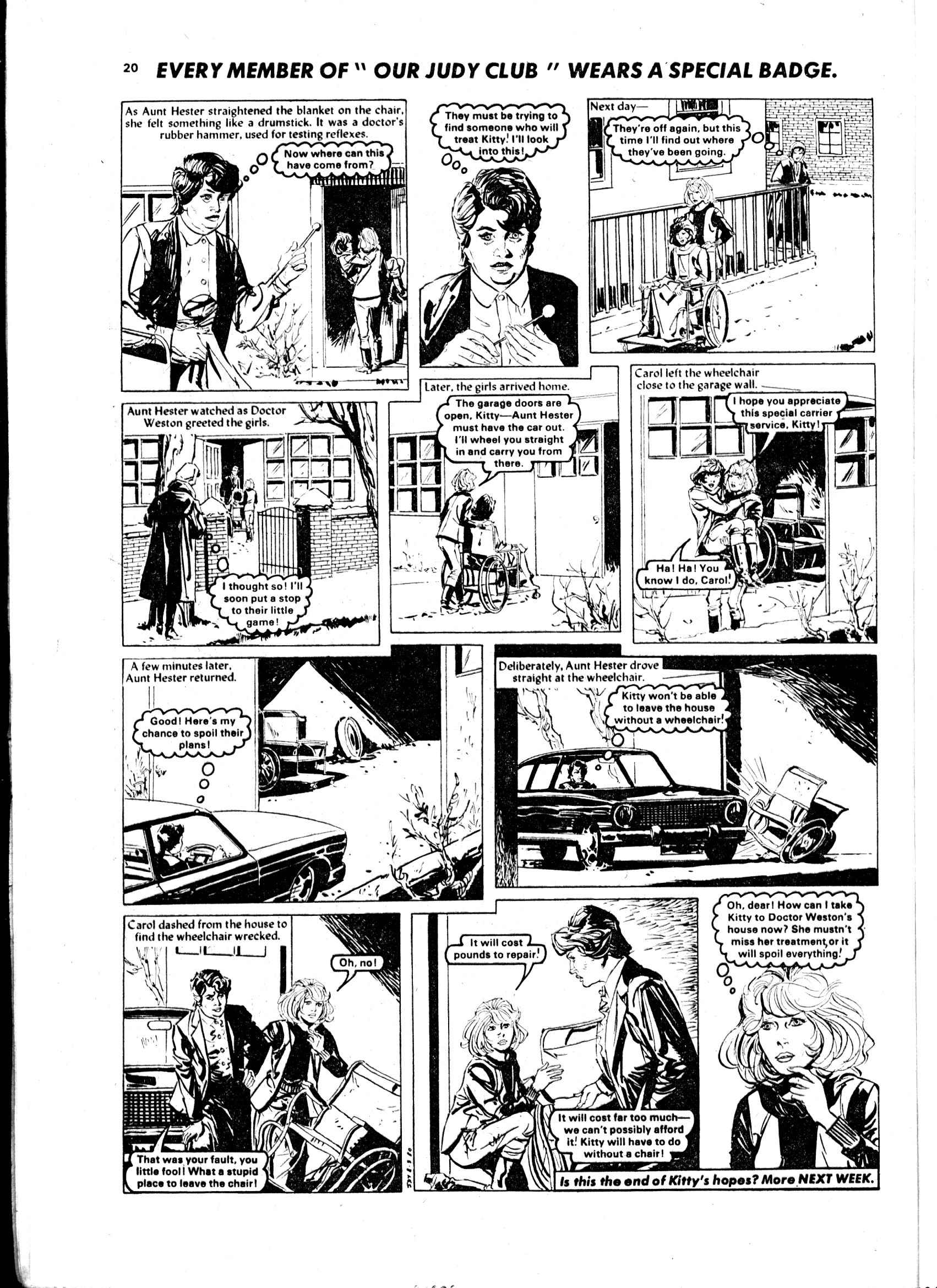 Read online Judy comic -  Issue #1052 - 20
